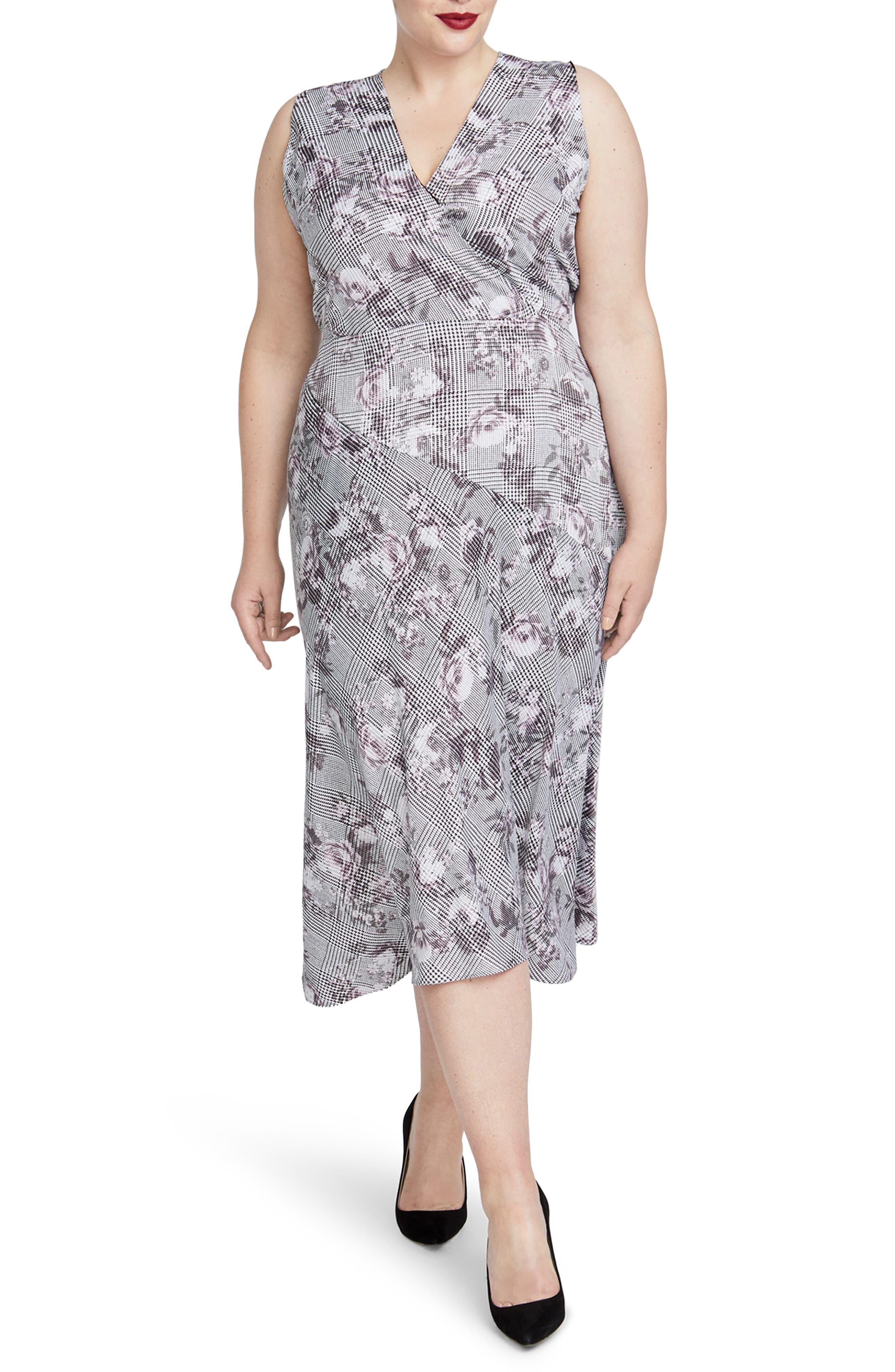 Plus Size Rachel Rachel Roy Giles Dress, Grey