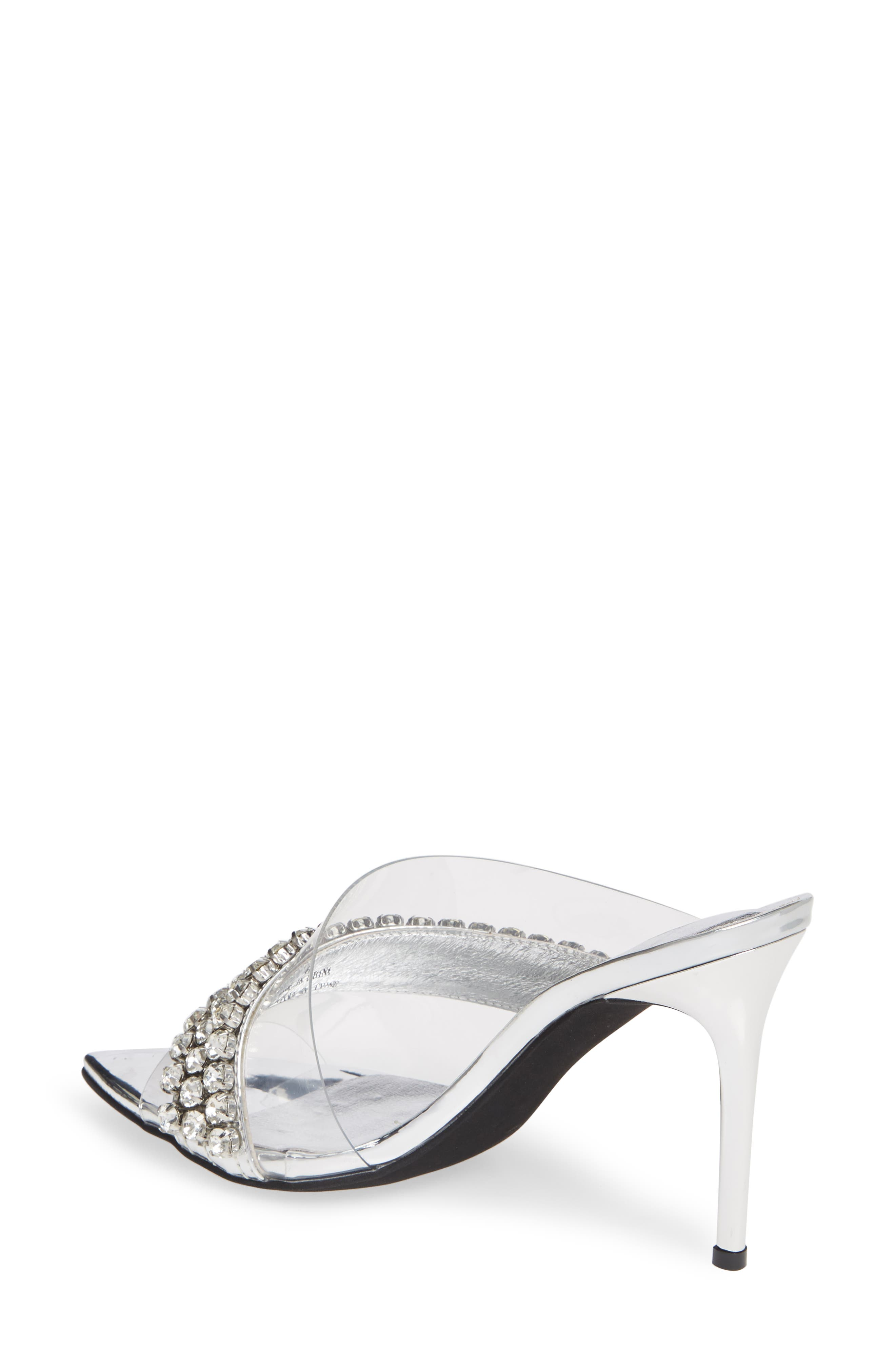 Glam Sandal,                             Alternate thumbnail 2, color,                             SILVER MIRROR LEATHER