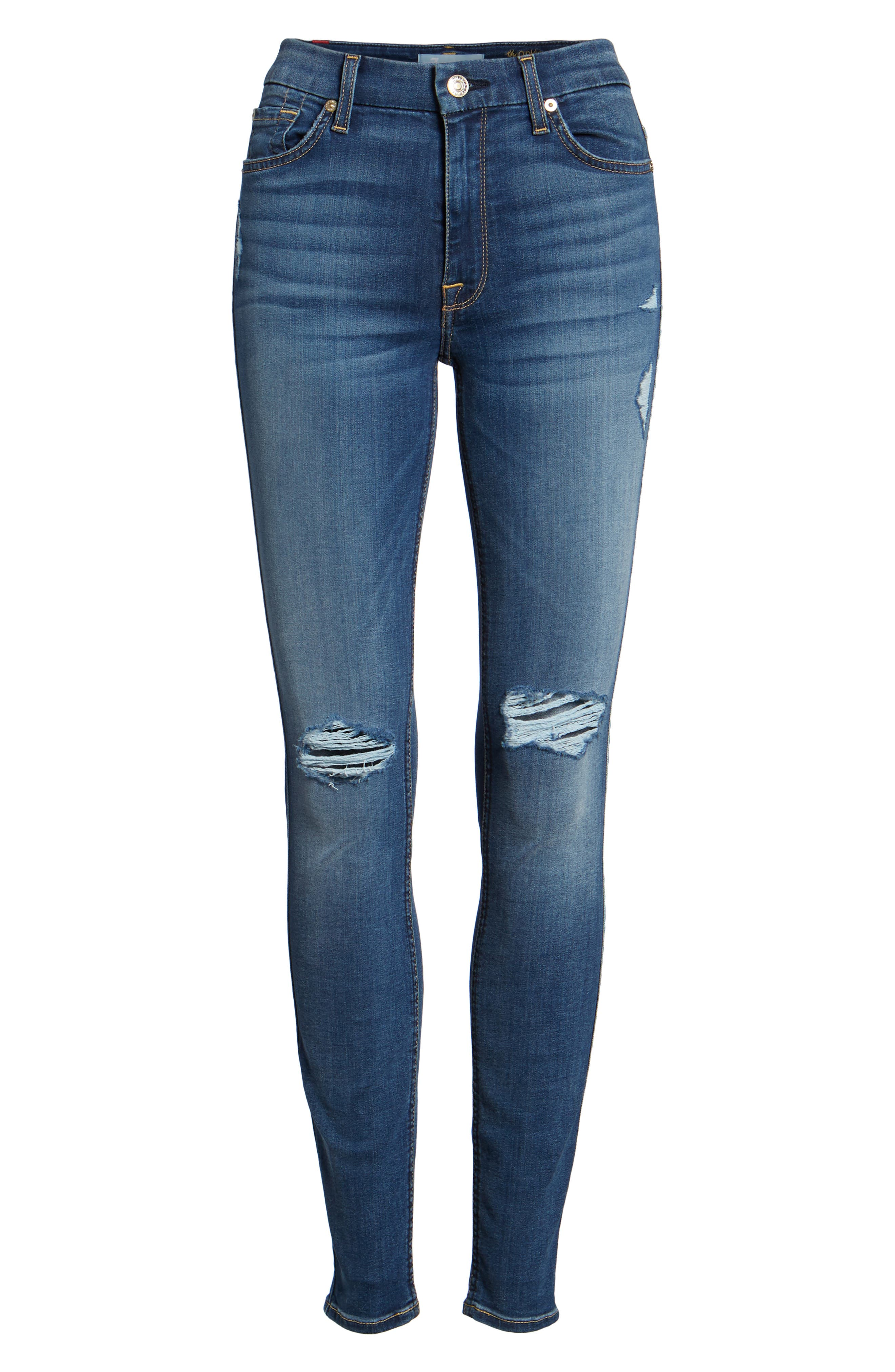 'b(air) - The Ankle' Skinny Jeans,                             Alternate thumbnail 28, color,