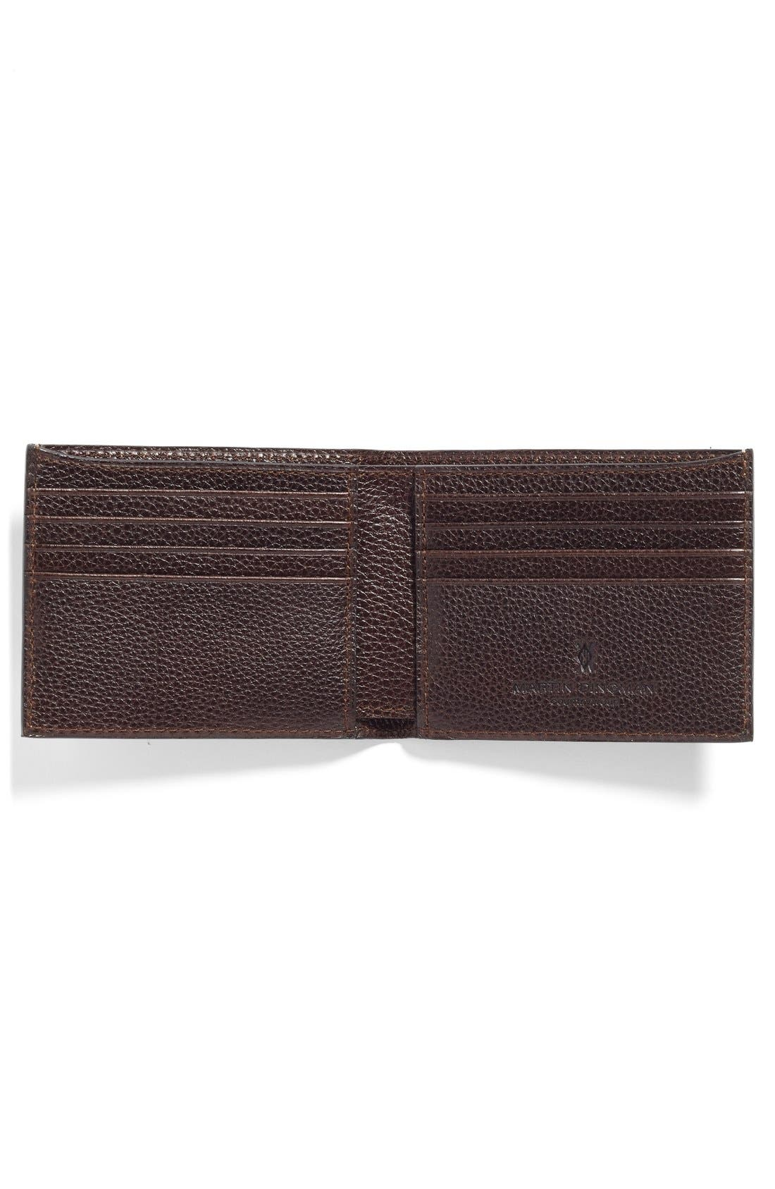 Water Buffalo Leather Wallet,                             Alternate thumbnail 2, color,                             203