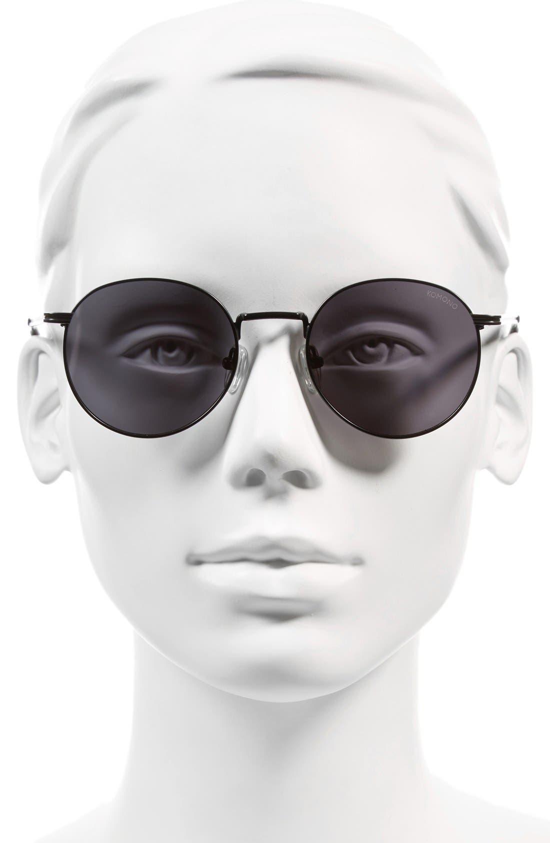 Taylor 50mm Sunglasses,                             Alternate thumbnail 4, color,                             001
