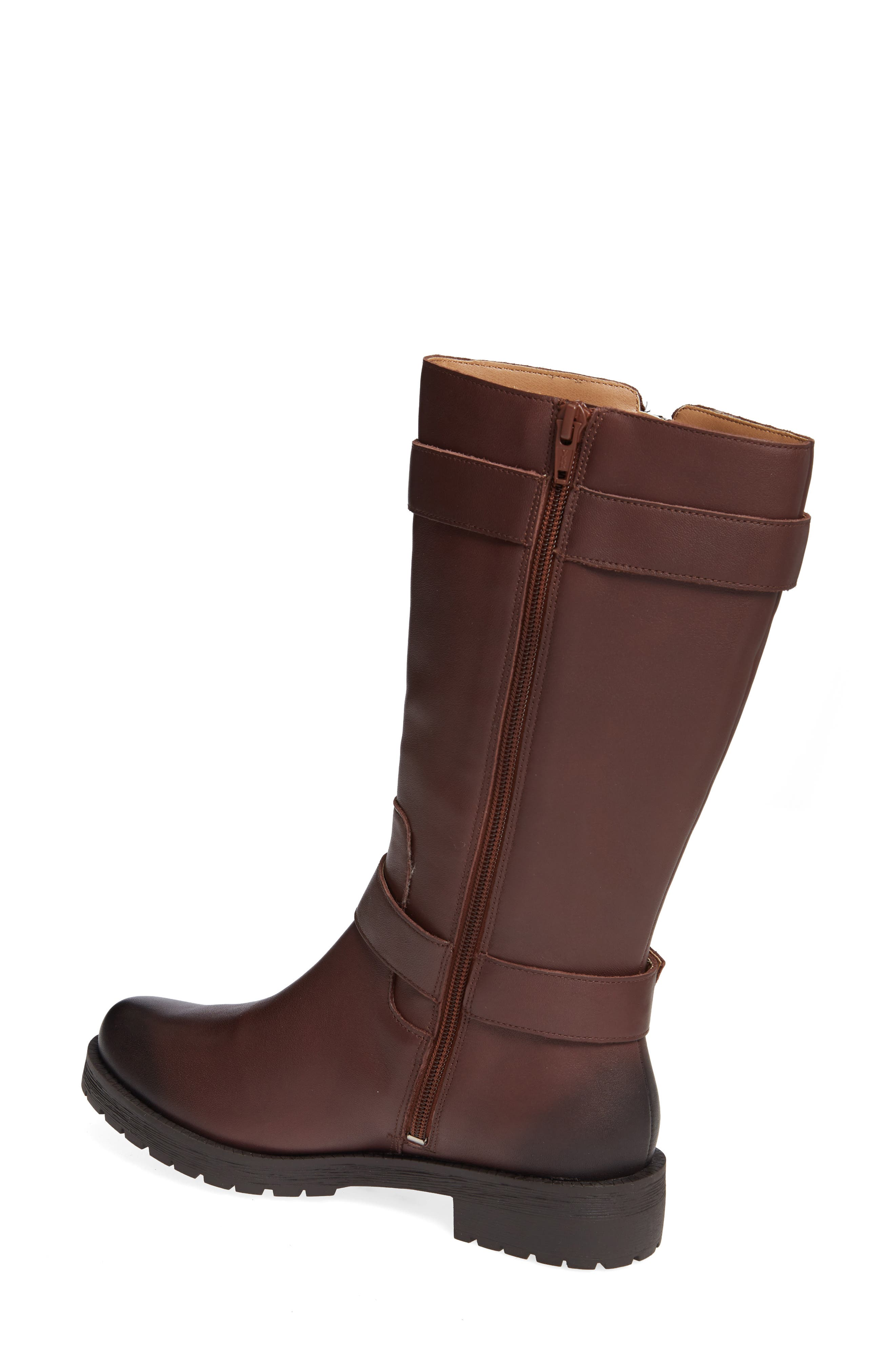 Marlow Boot,                             Alternate thumbnail 2, color,                             CHOCOLATE LEATHER