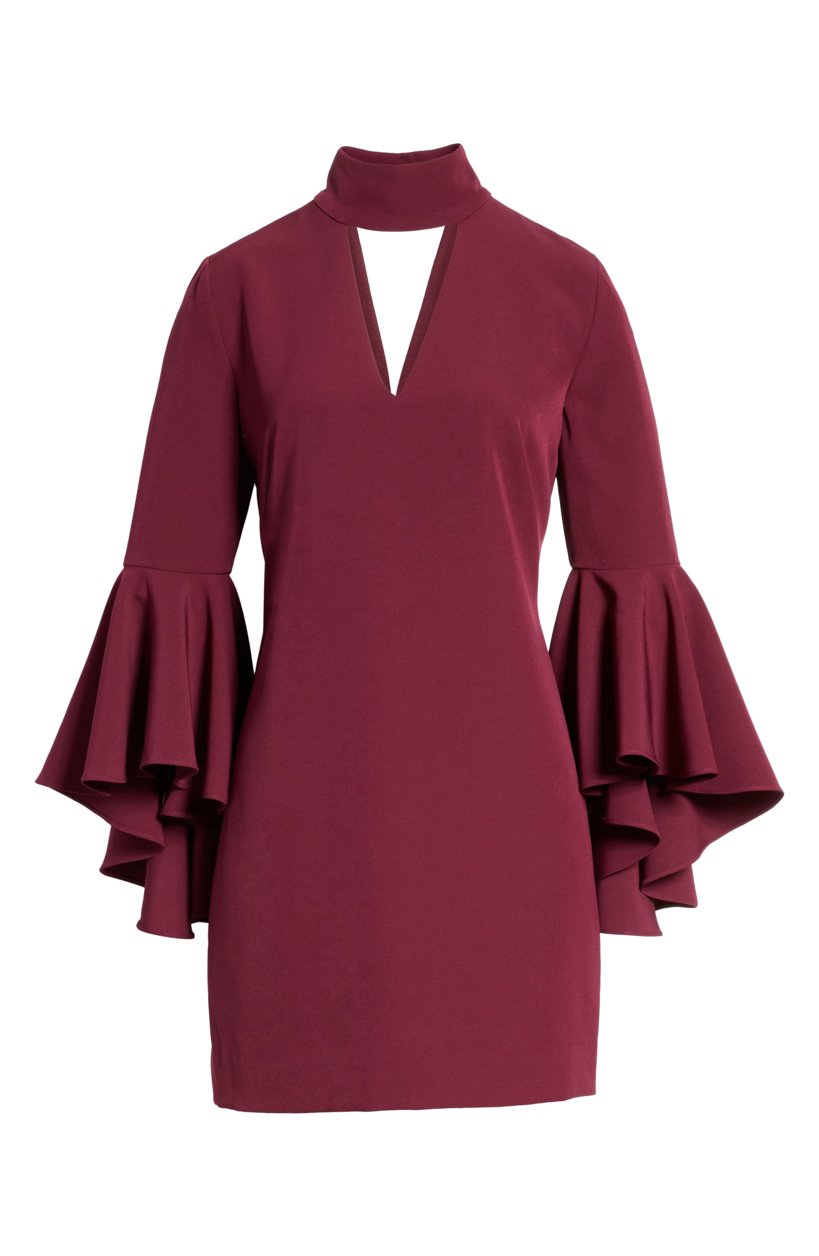 Andrea Italian Cady A-Line Dress,                             Alternate thumbnail 6, color,                             931