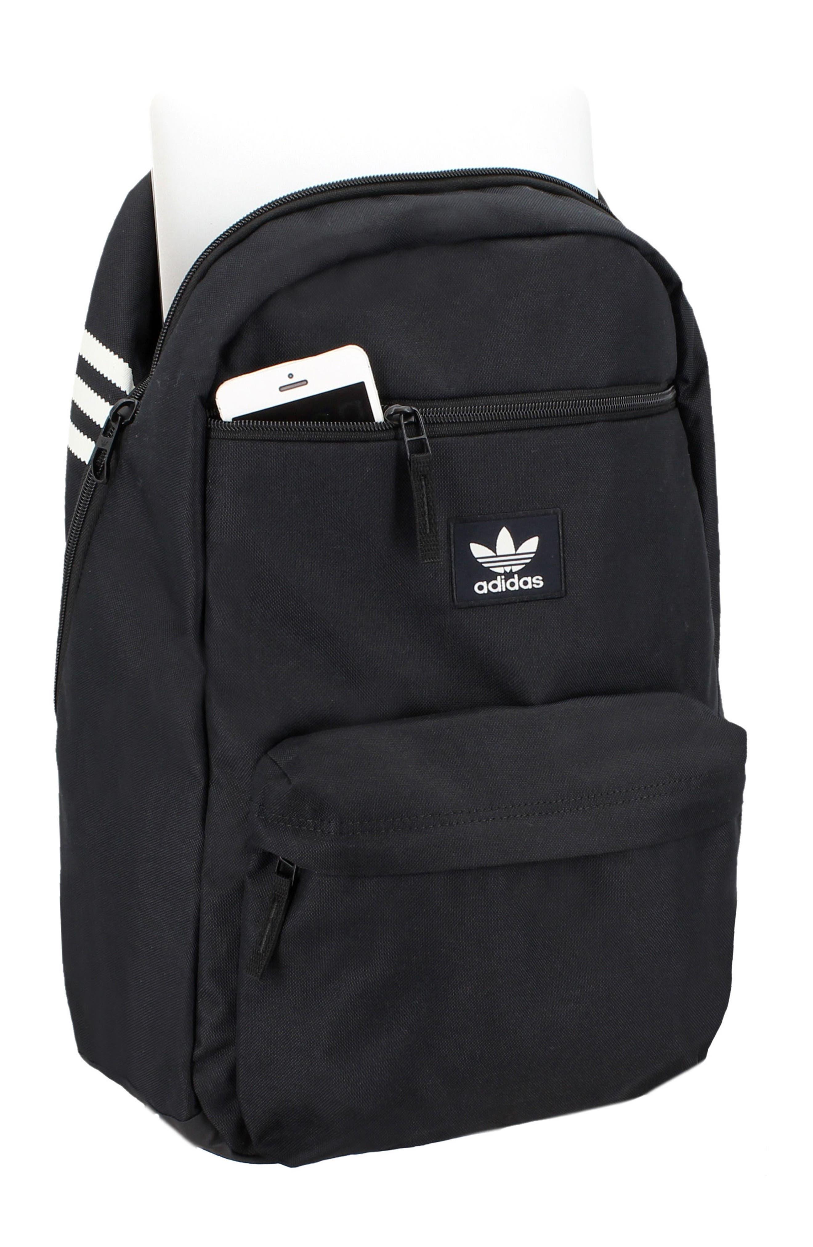 ADIDAS ORIGINALS,                             Nationals Backpack,                             Alternate thumbnail 4, color,                             BLACK