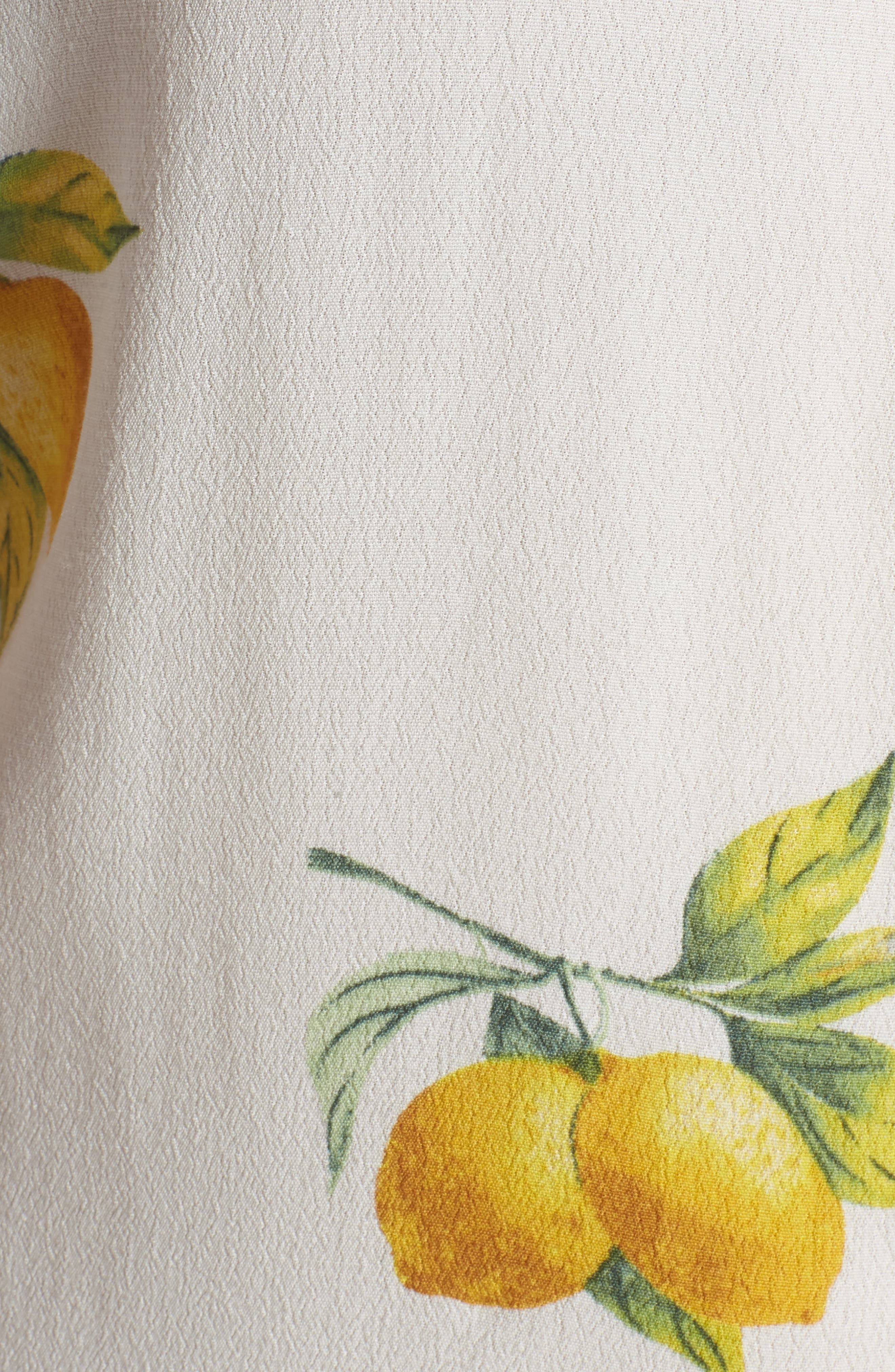 Whitney Print Shirt,                             Alternate thumbnail 6, color,                             100