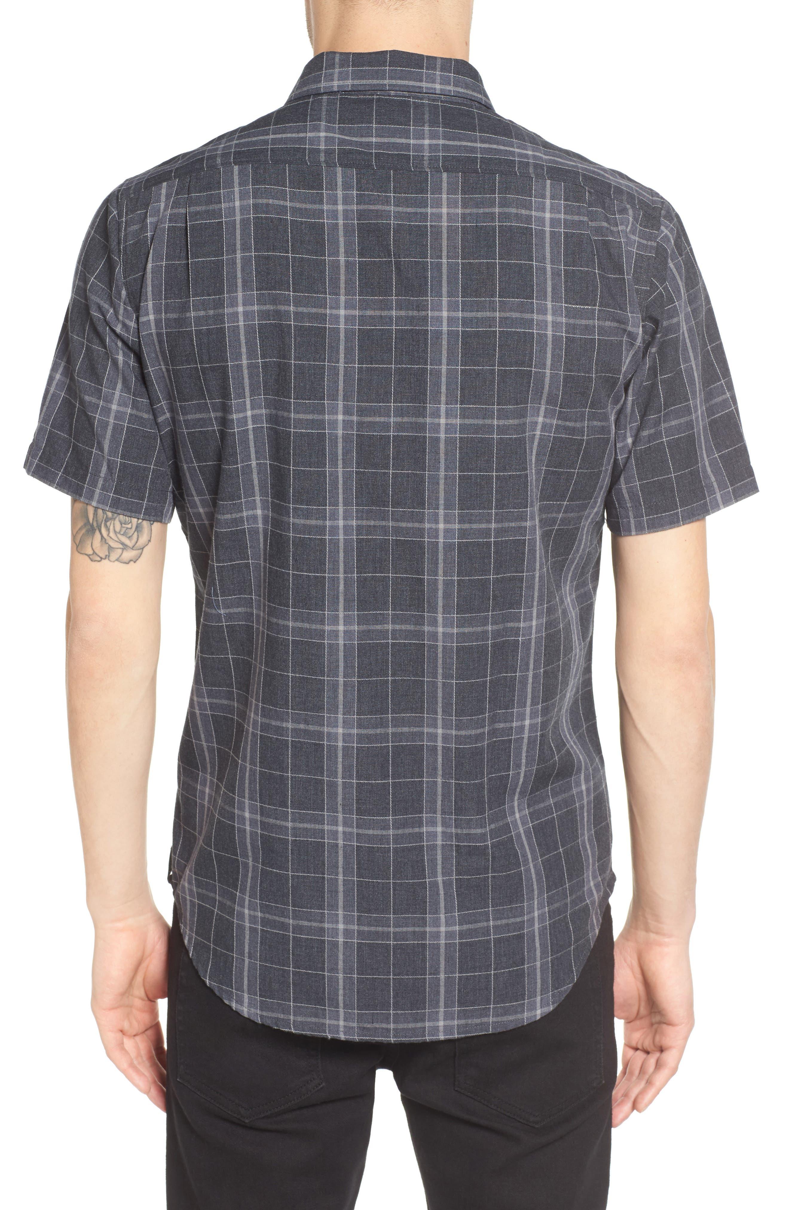 Plaid Woven Shirt,                             Alternate thumbnail 3, color,