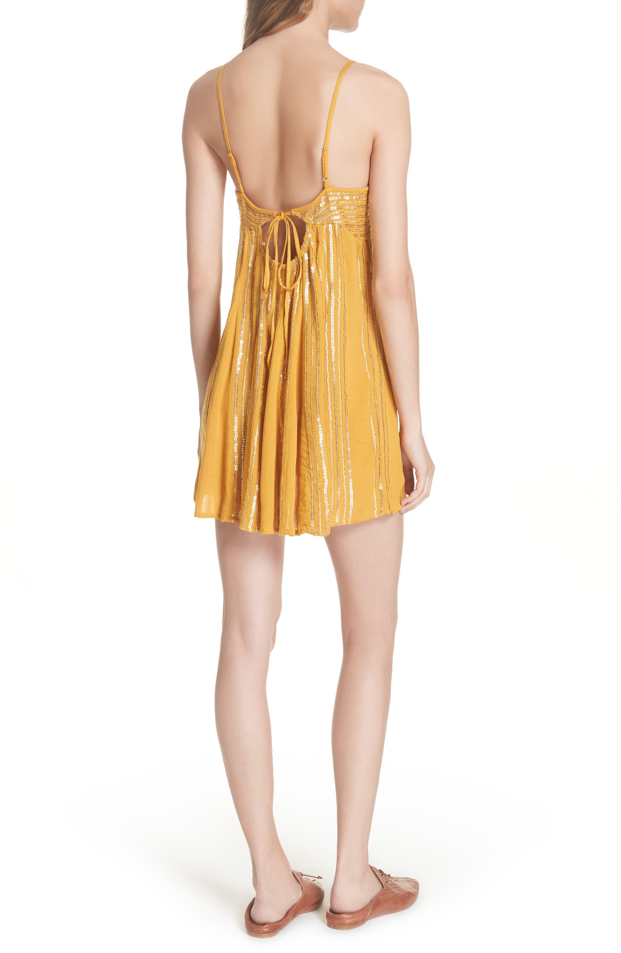 Here She Is Embellished Swing Minidress,                             Alternate thumbnail 2, color,                             710