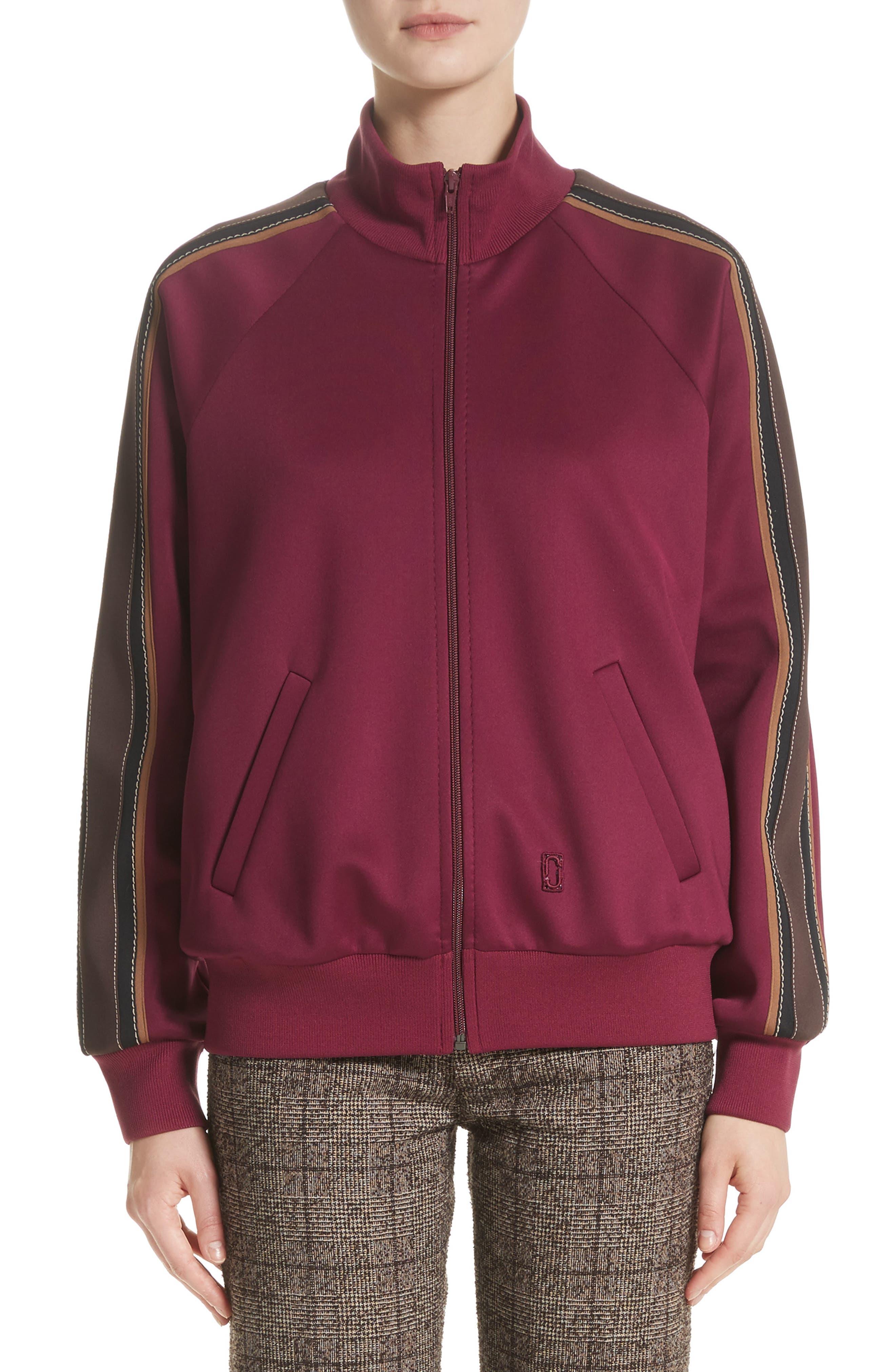 Zip Jersey Track Jacket,                             Main thumbnail 1, color,                             930