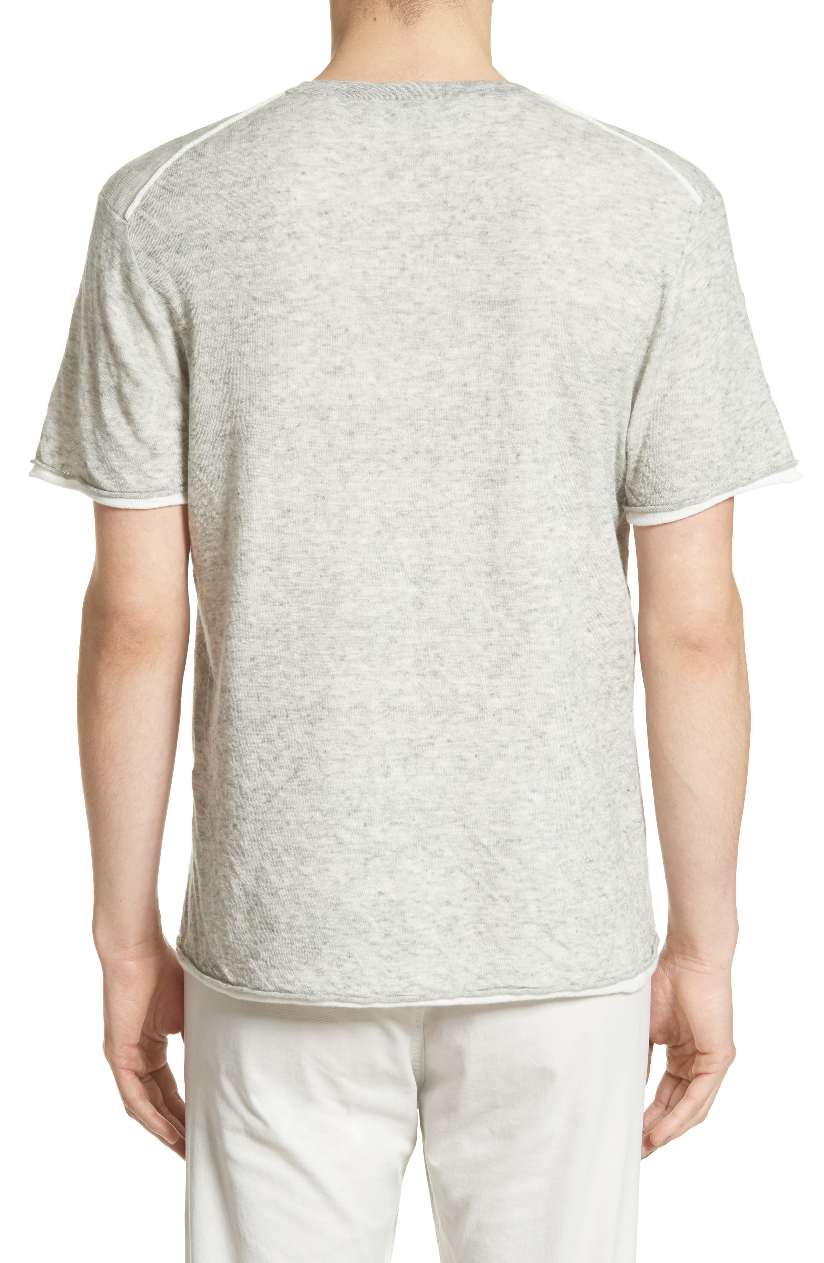 Tripp Cotton & Wool T-Shirt,                             Alternate thumbnail 2, color,                             068