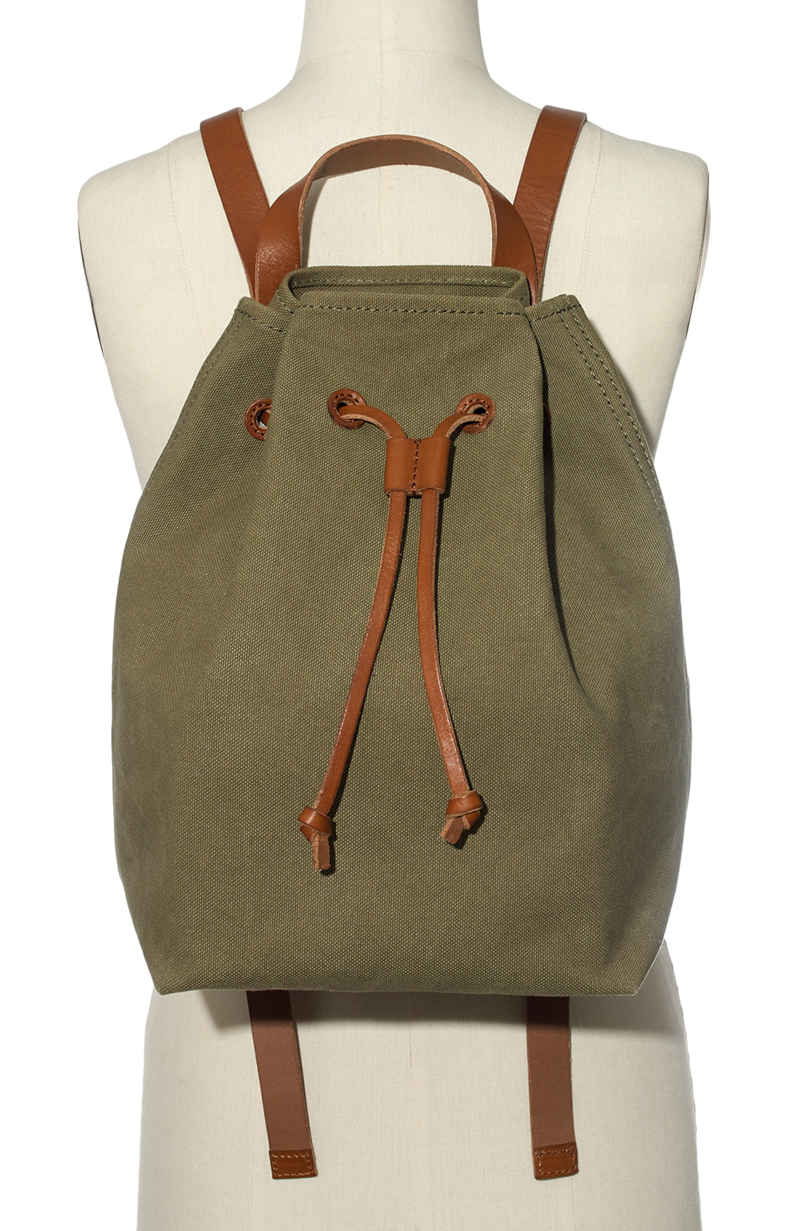 Somerset Canvas Backpack,                             Alternate thumbnail 25, color,