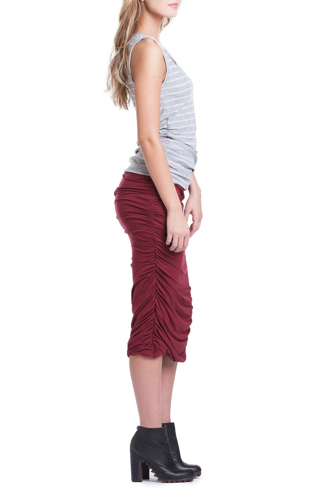 Ruched Maternity Tank,                             Alternate thumbnail 5, color,                             060