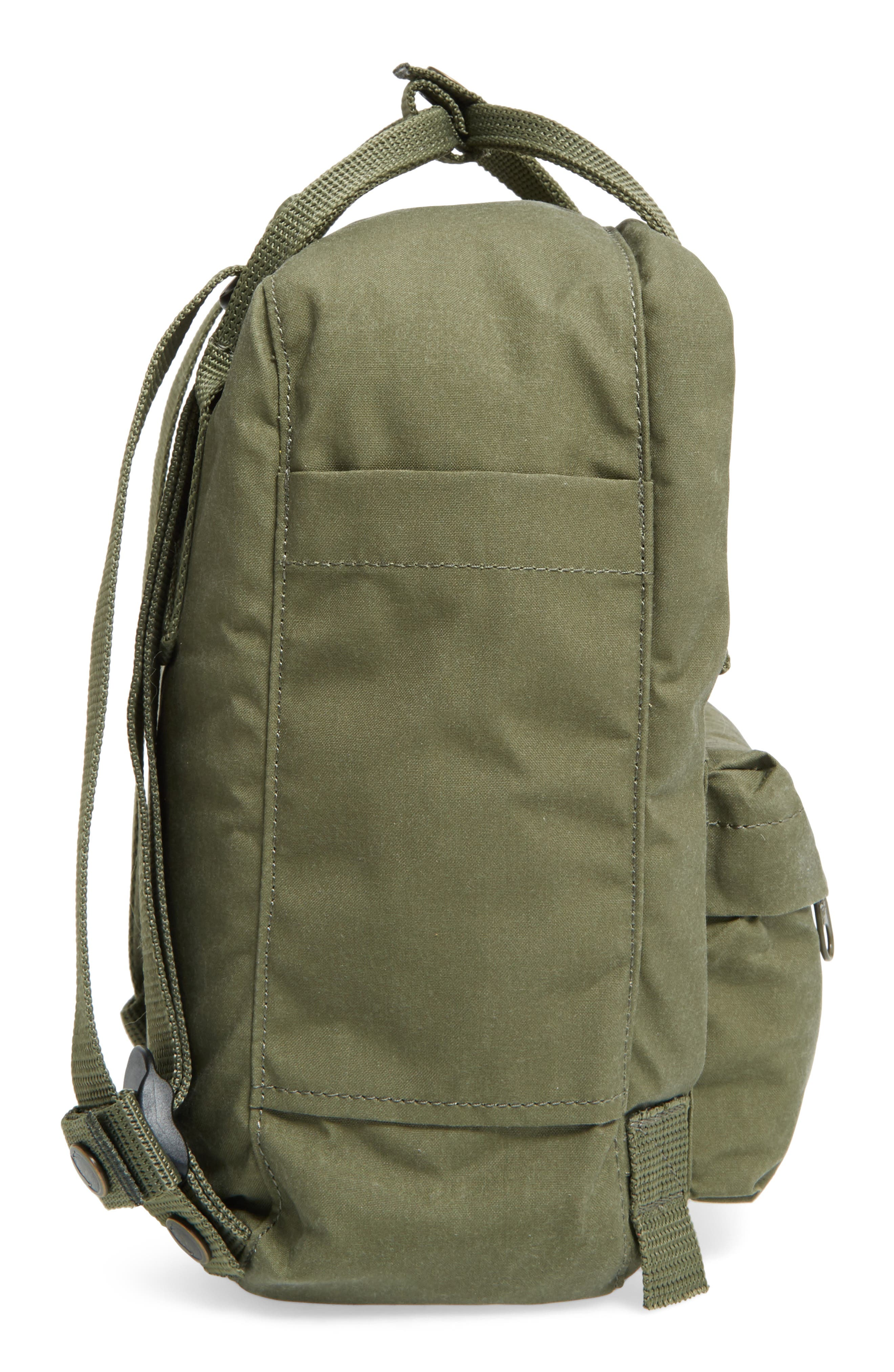 'Mini Kånken' Water Resistant Backpack,                             Alternate thumbnail 5, color,                             GREEN