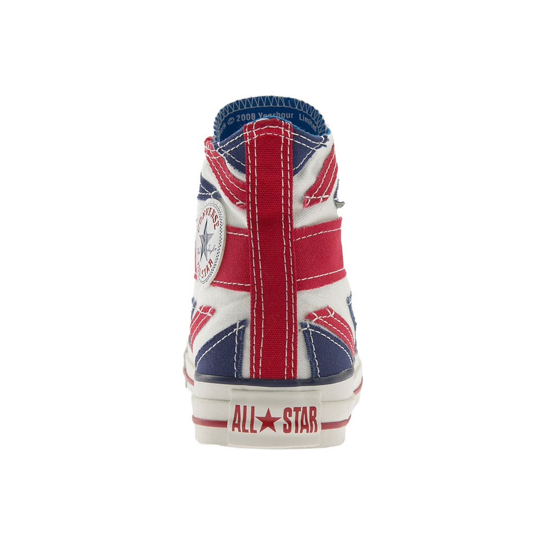 Chuck Taylor<sup>®</sup> 'Rock Hi - The Who' Sneaker,                             Alternate thumbnail 3, color,                             158