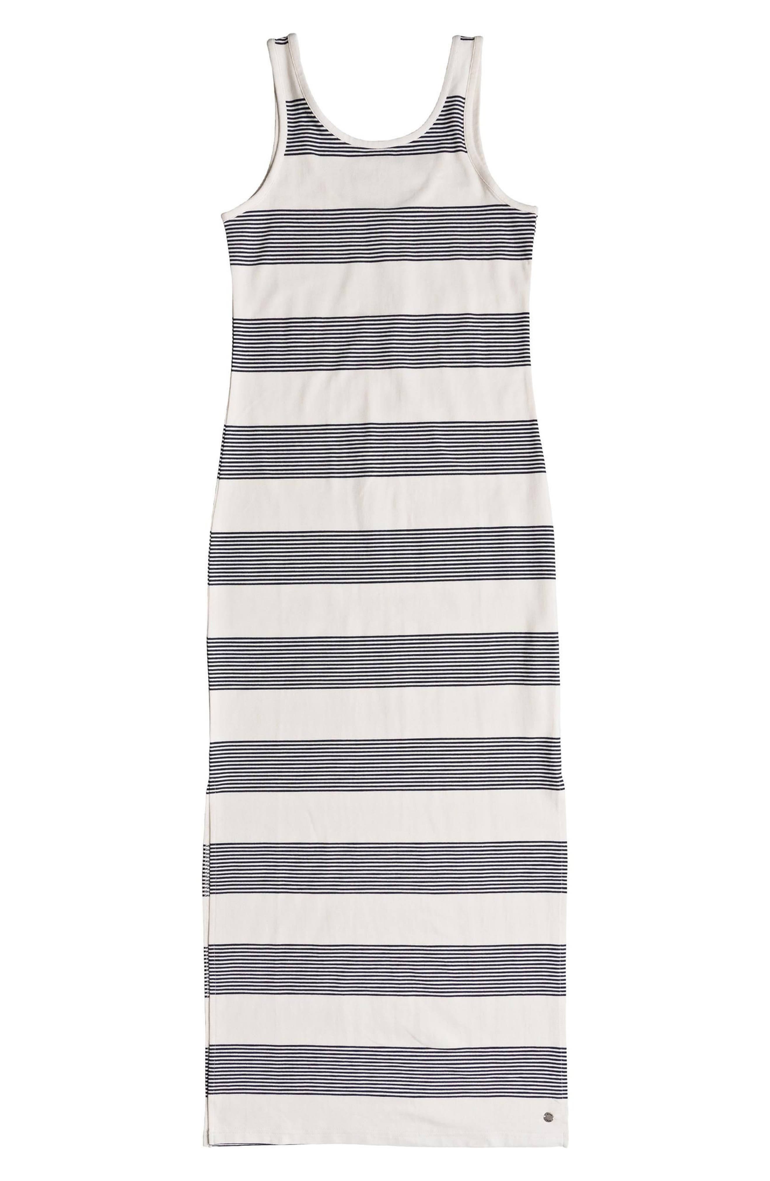 Tuba Stripe Tank Dress,                             Alternate thumbnail 4, color,                             400