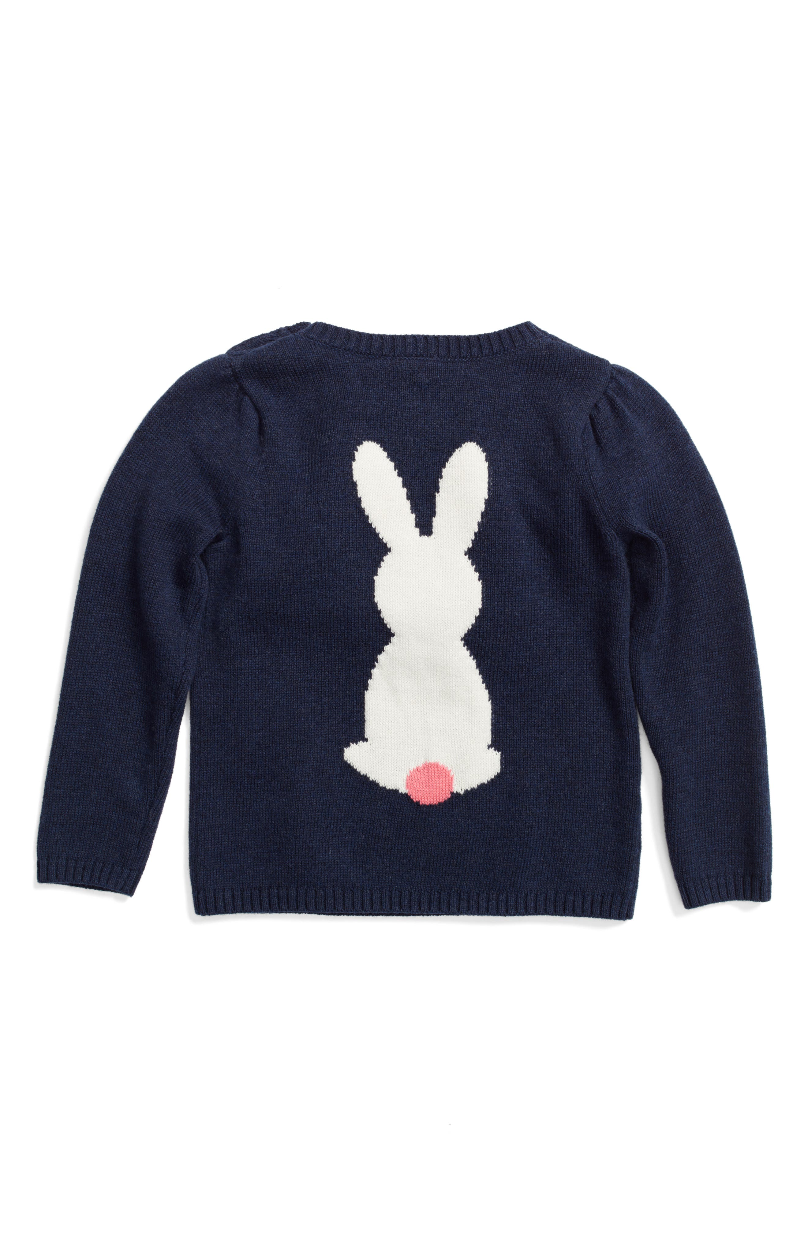 Bunny Sweater,                         Main,                         color, 410