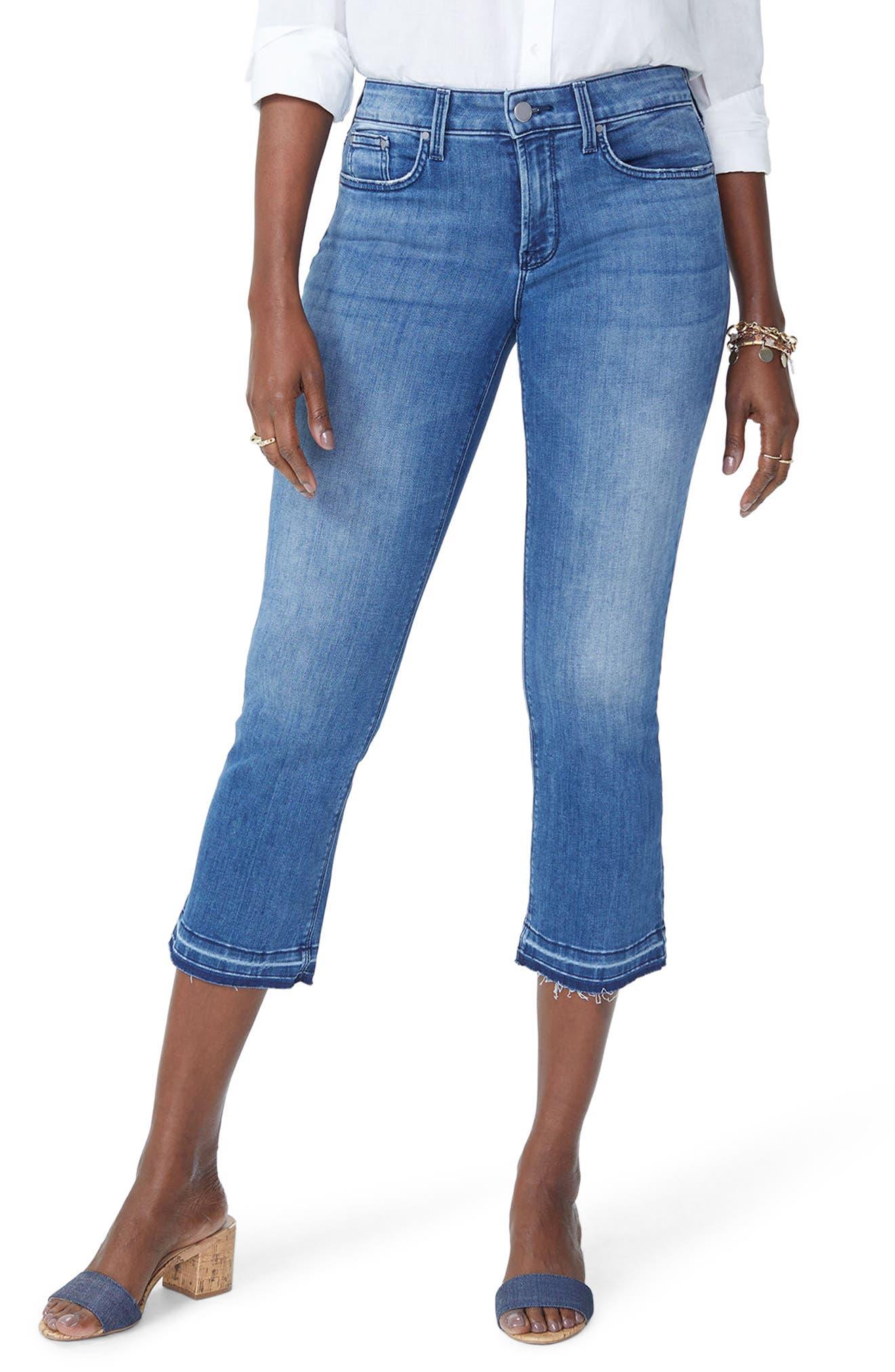 Billie Stretch Crop Bootcut Jeans,                             Main thumbnail 1, color,                             PALMER