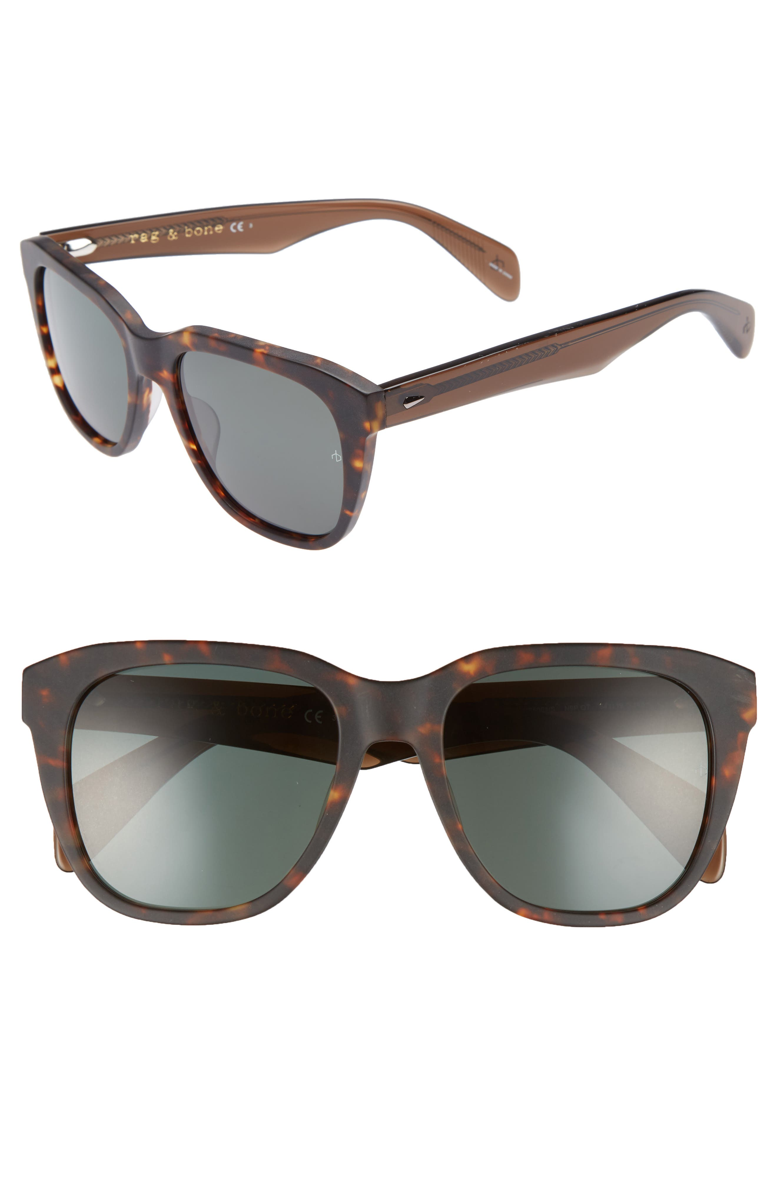 RAG & BONE,                             54mm Sunglasses,                             Main thumbnail 1, color,                             210