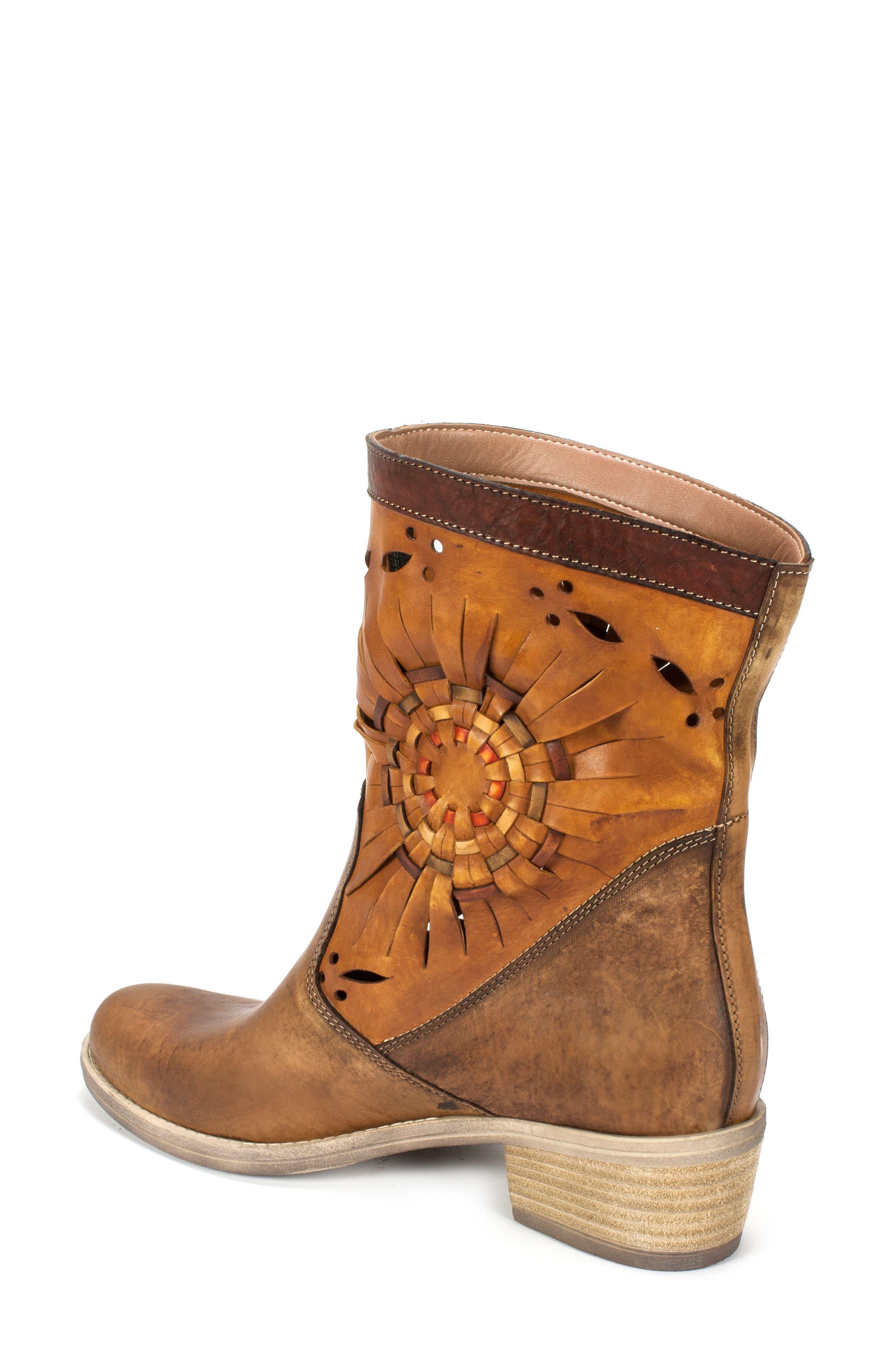 Taryn Woven Sunburst Boot,                             Alternate thumbnail 2, color,                             200