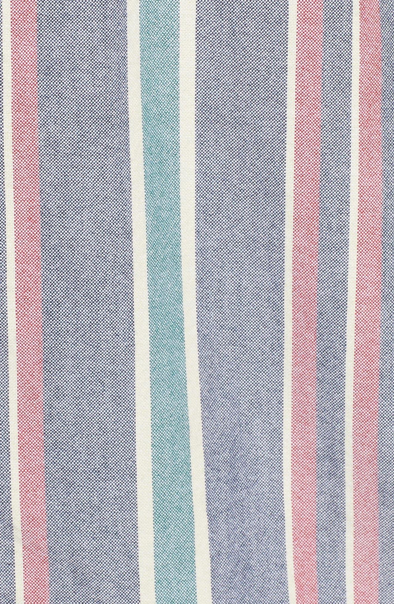 Houser Short Sleeve Shirt,                             Alternate thumbnail 5, color,                             DRESS BLUES/ EVERGREEN