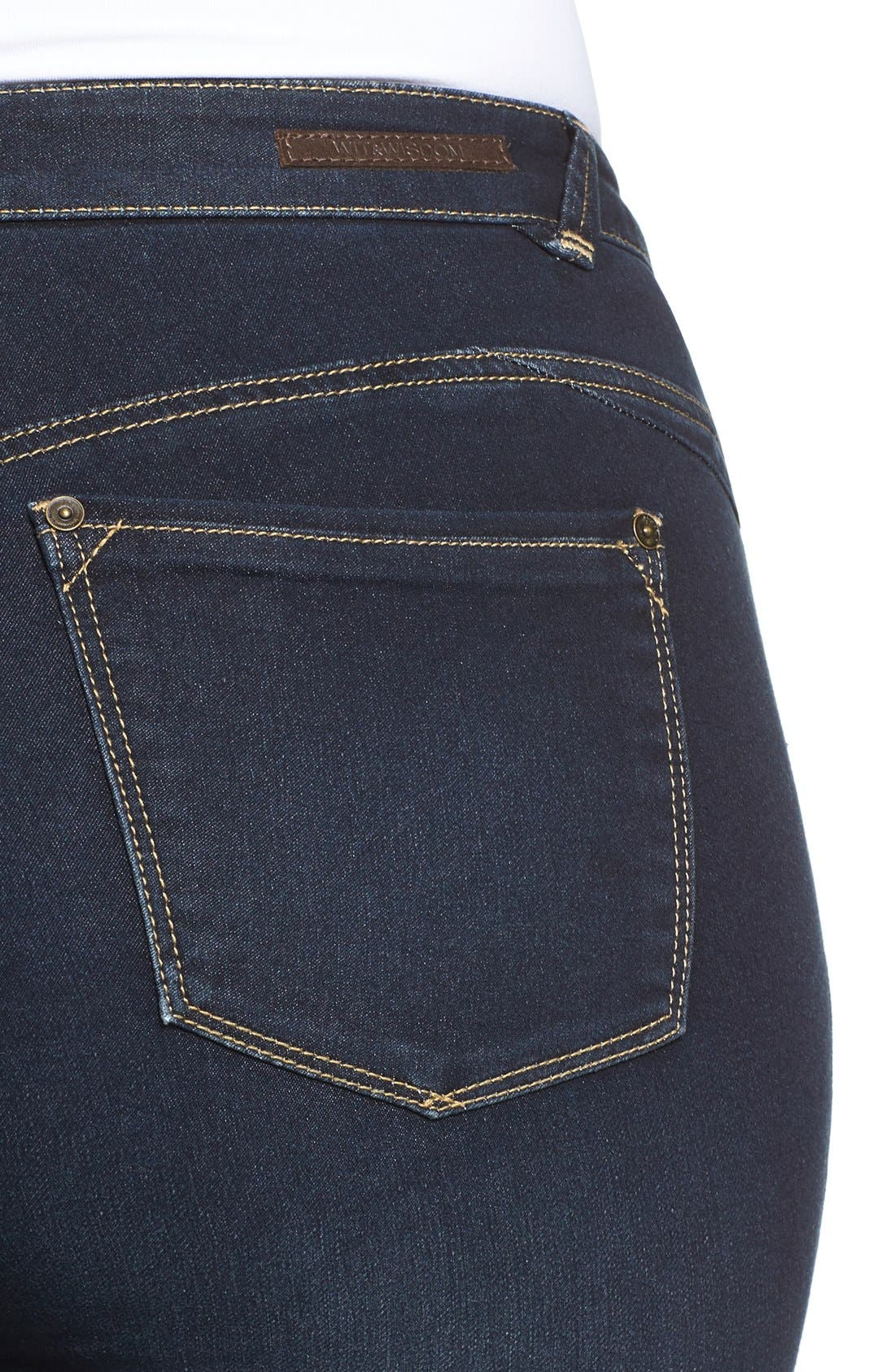 Stretch Skinny Jeans,                             Alternate thumbnail 6, color,
