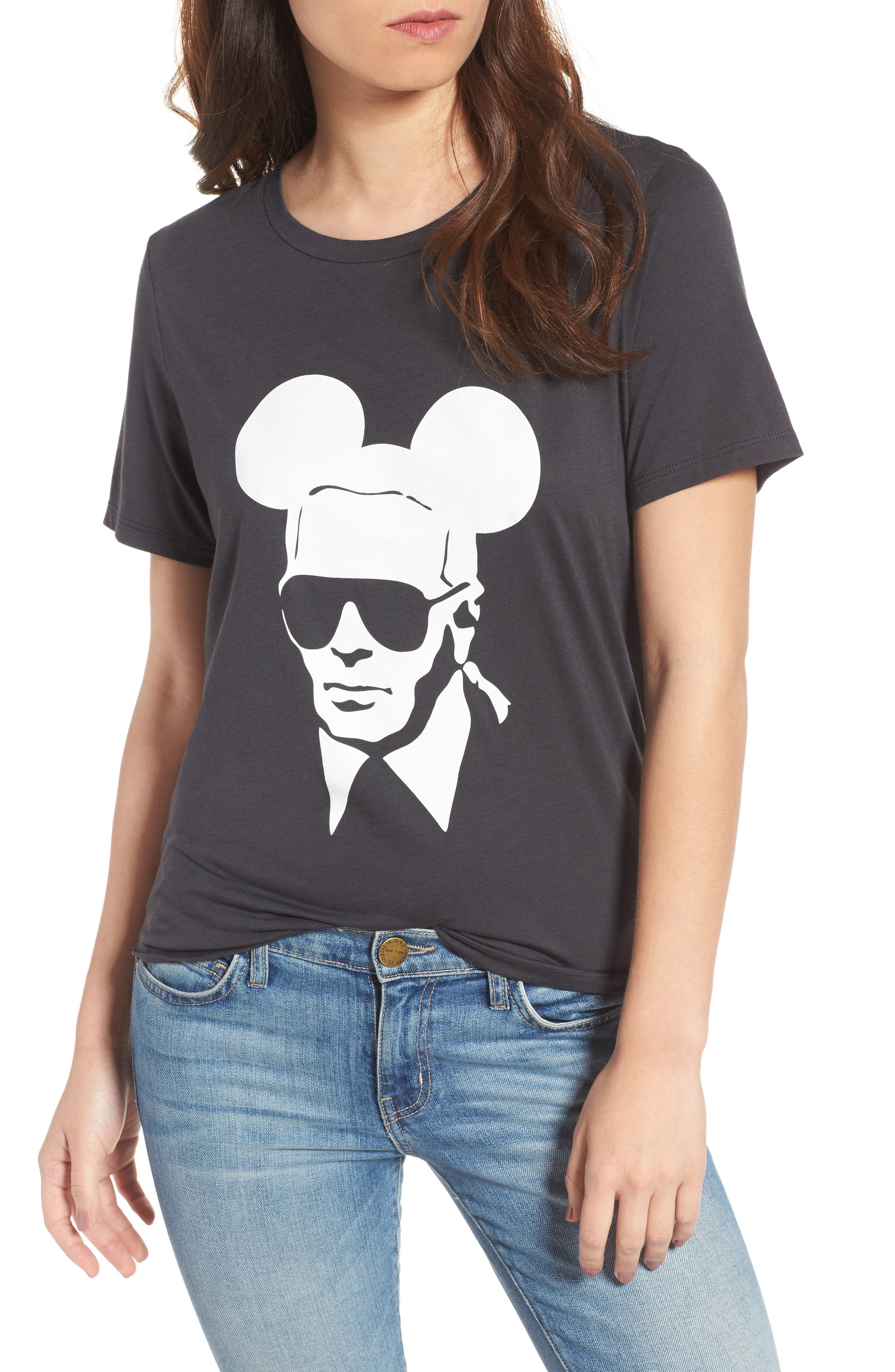 Karl Mouse Tee,                         Main,                         color, 001