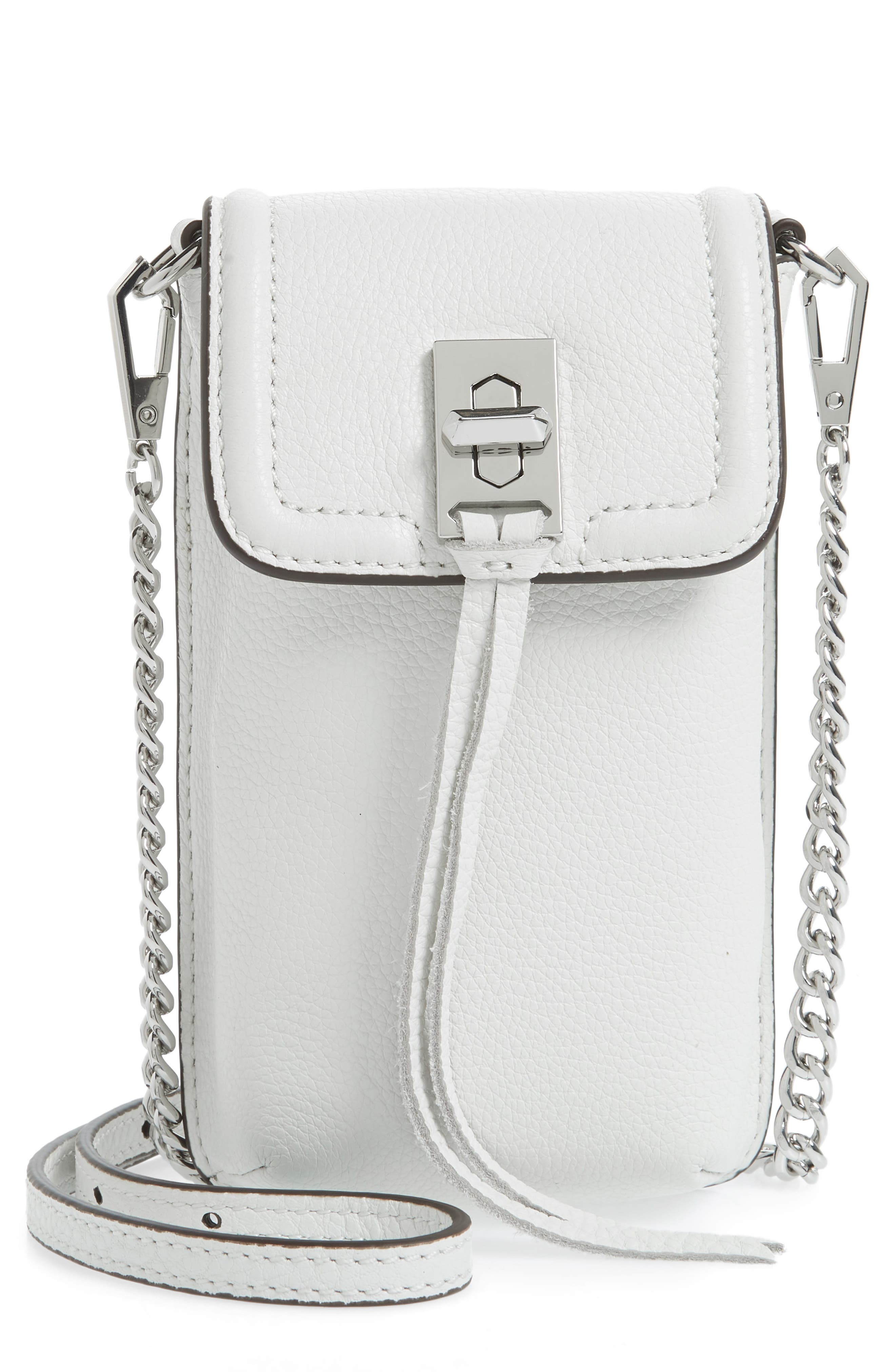 Darren Leather Phone Crossbody Bag,                             Main thumbnail 2, color,