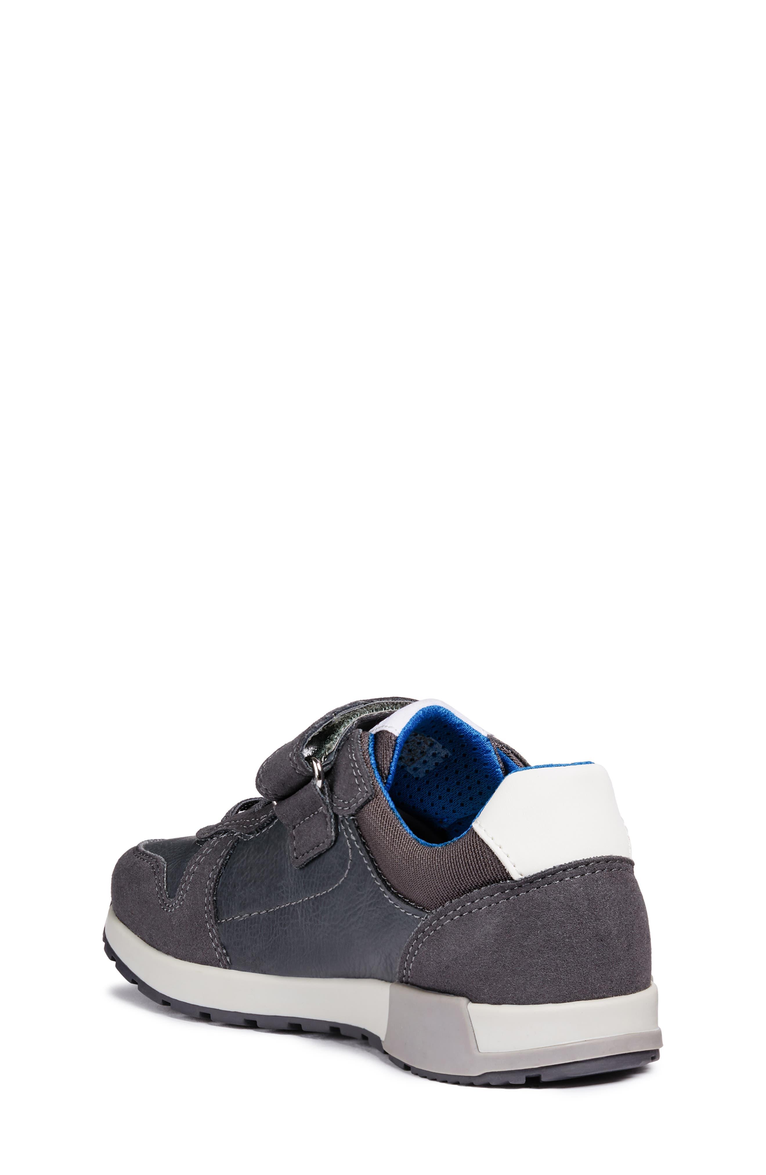 Alfier Boy Sneaker,                             Alternate thumbnail 2, color,                             DARK GREY/GREY