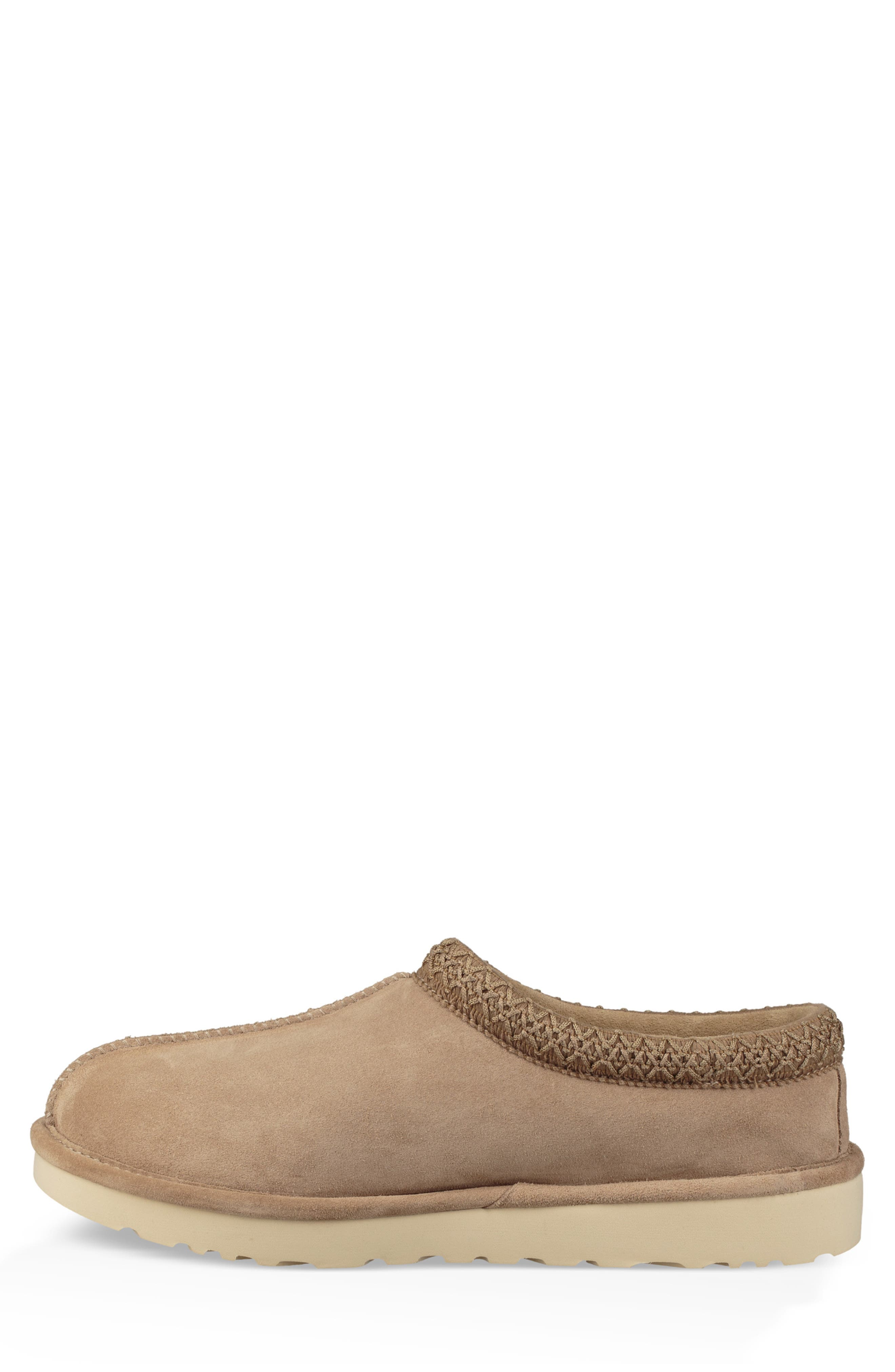 Tasman Pinnacle Indoor/Outdoor Horween Slipper,                             Alternate thumbnail 6, color,                             BEIGE