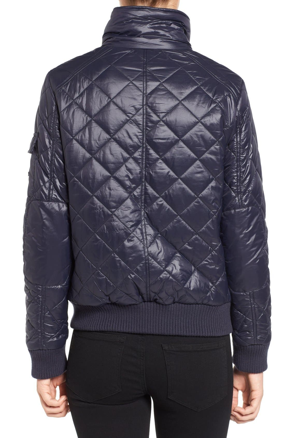 Quilted Bomber Jacket,                             Alternate thumbnail 10, color,