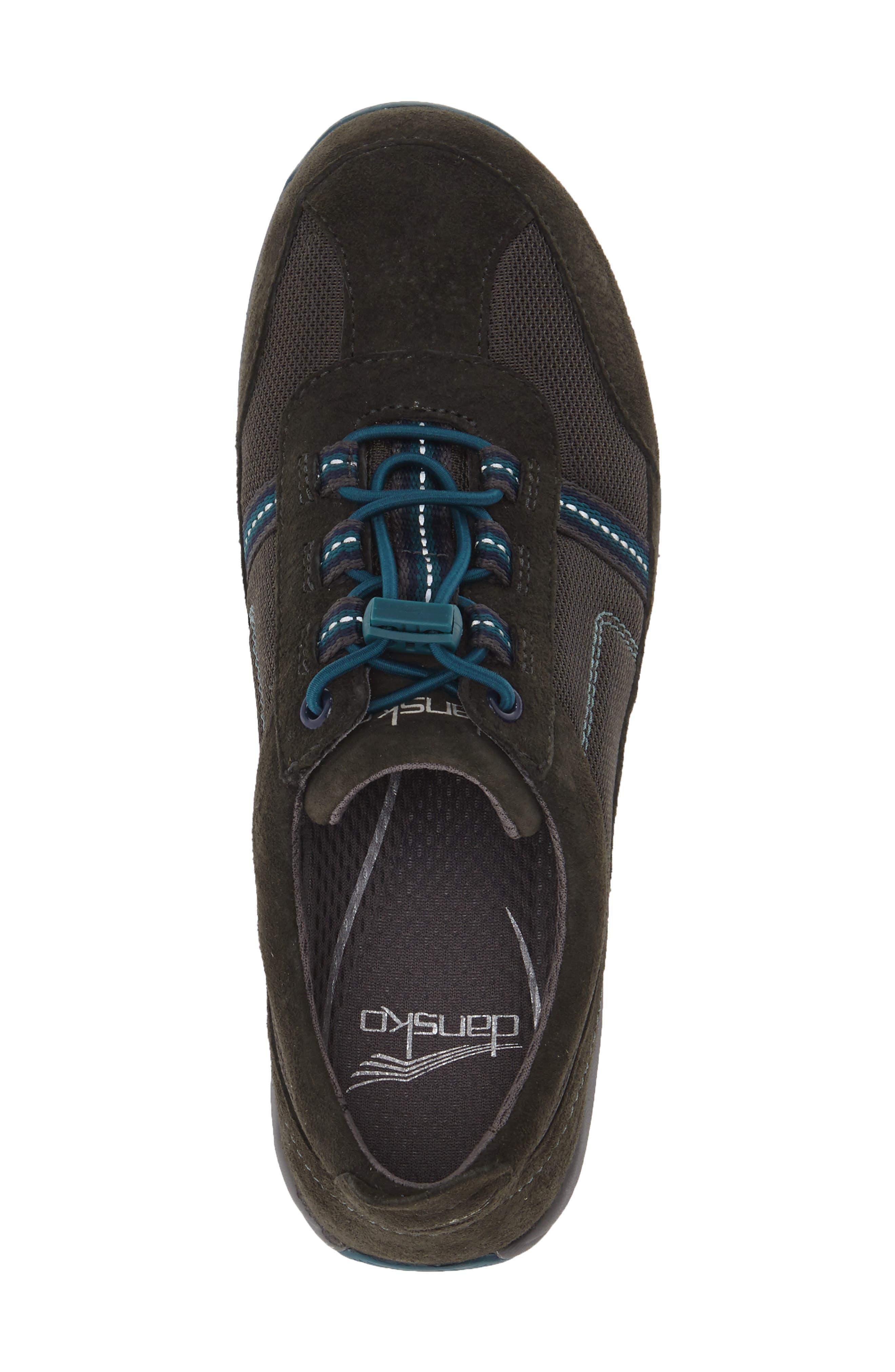 'Helen' Suede & Mesh Sneaker,                             Alternate thumbnail 48, color,