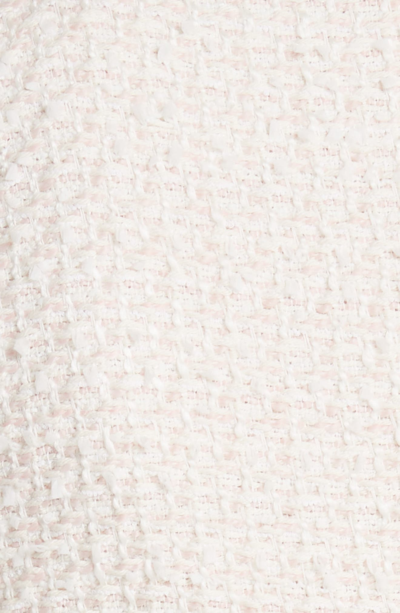 Drop Waist Tweed Dress,                             Alternate thumbnail 5, color,