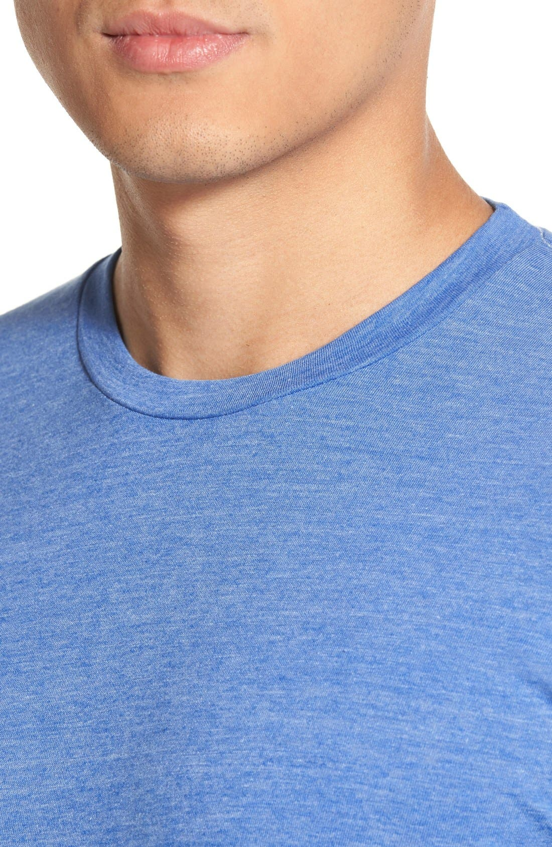 Scallop Triblend Crewneck T-Shirt,                             Alternate thumbnail 88, color,