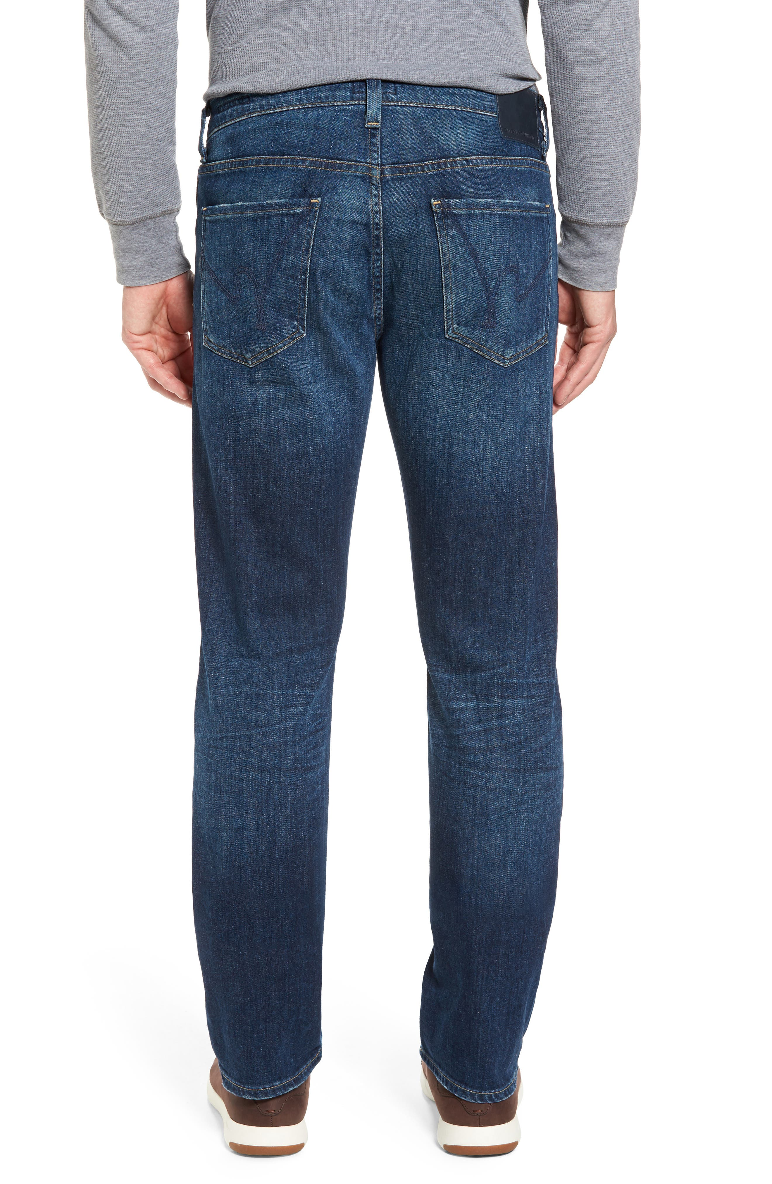 Sid Straight Fit Jeans,                             Alternate thumbnail 2, color,                             410