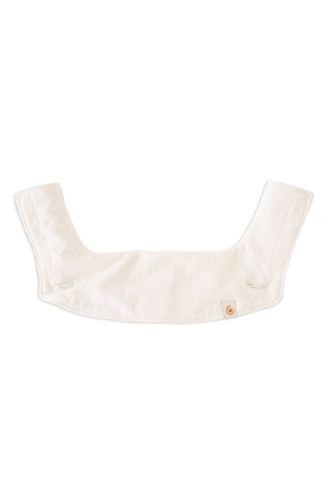ERGOBABY 360 Carrier Teething Pad & Bib, Main, color, NATURAL