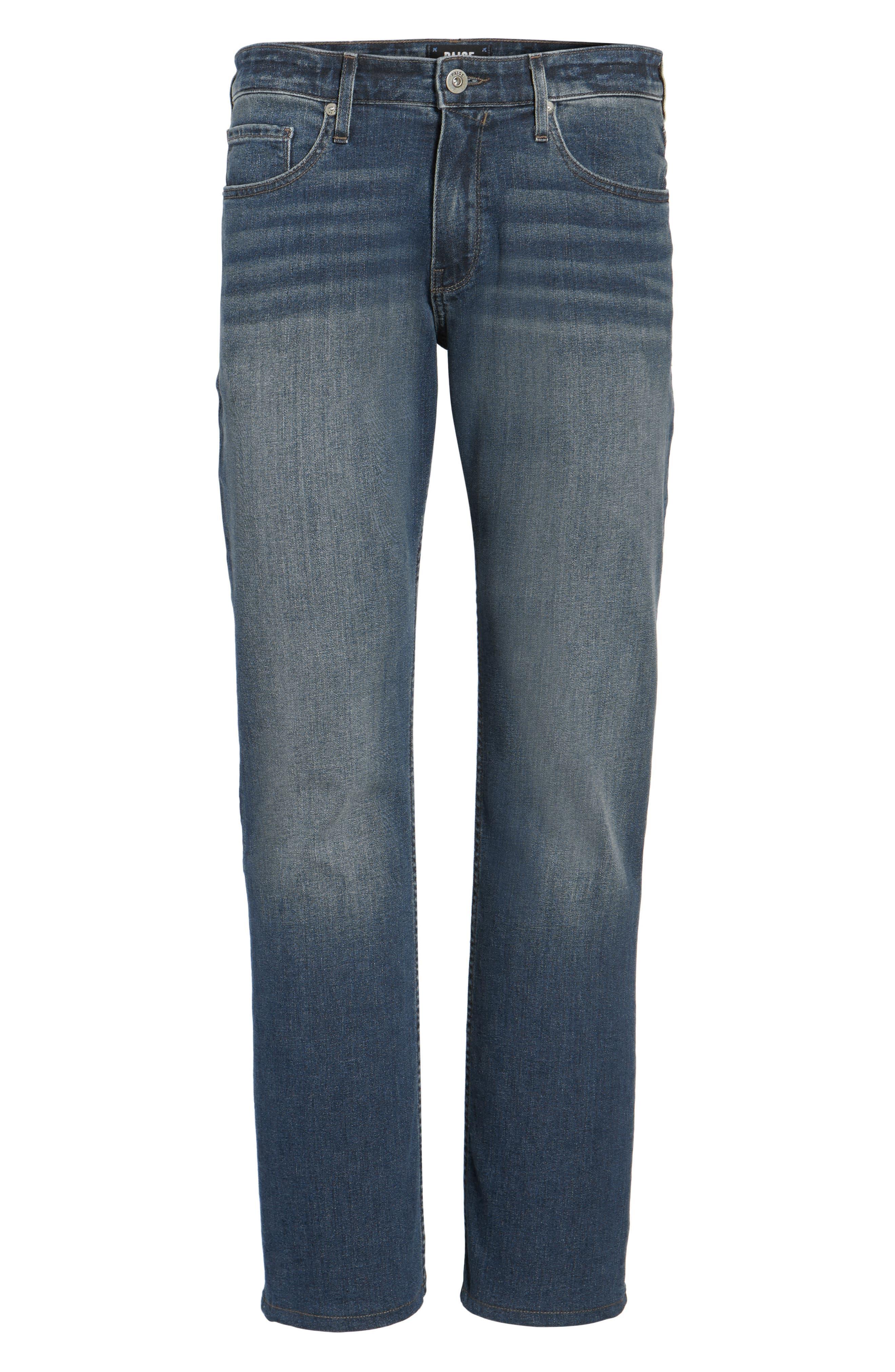 Normandie Straight Leg Jeans,                             Alternate thumbnail 6, color,                             400