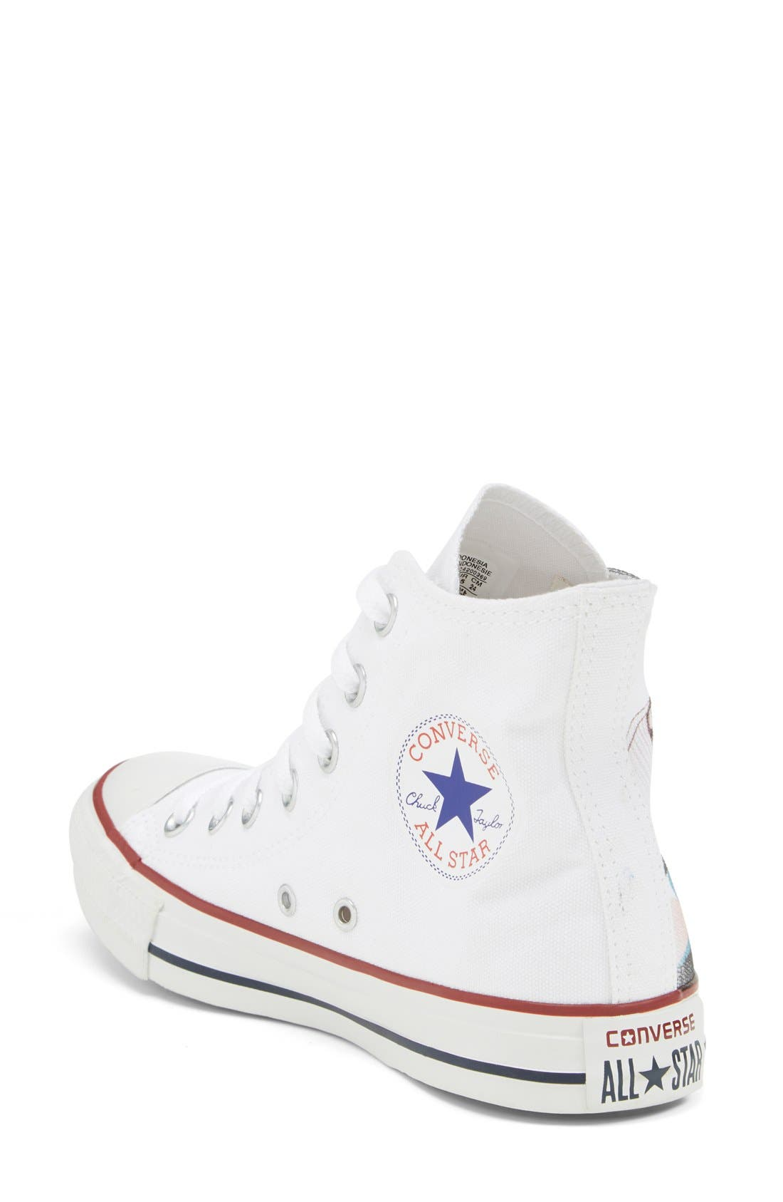 Chuck Taylor<sup>®</sup> All Star<sup>®</sup> 'Made By You - San Francisco' High Top Sneaker,                             Alternate thumbnail 3, color,                             102