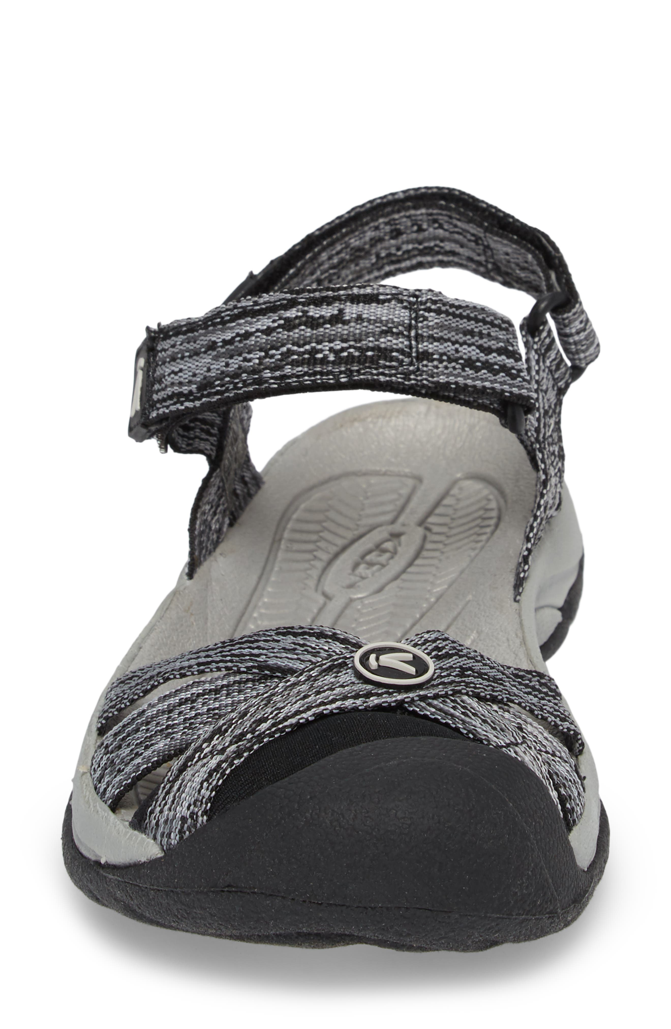 Bali Sandal,                             Alternate thumbnail 4, color,                             NEUTRAL GRAY/ BLACK