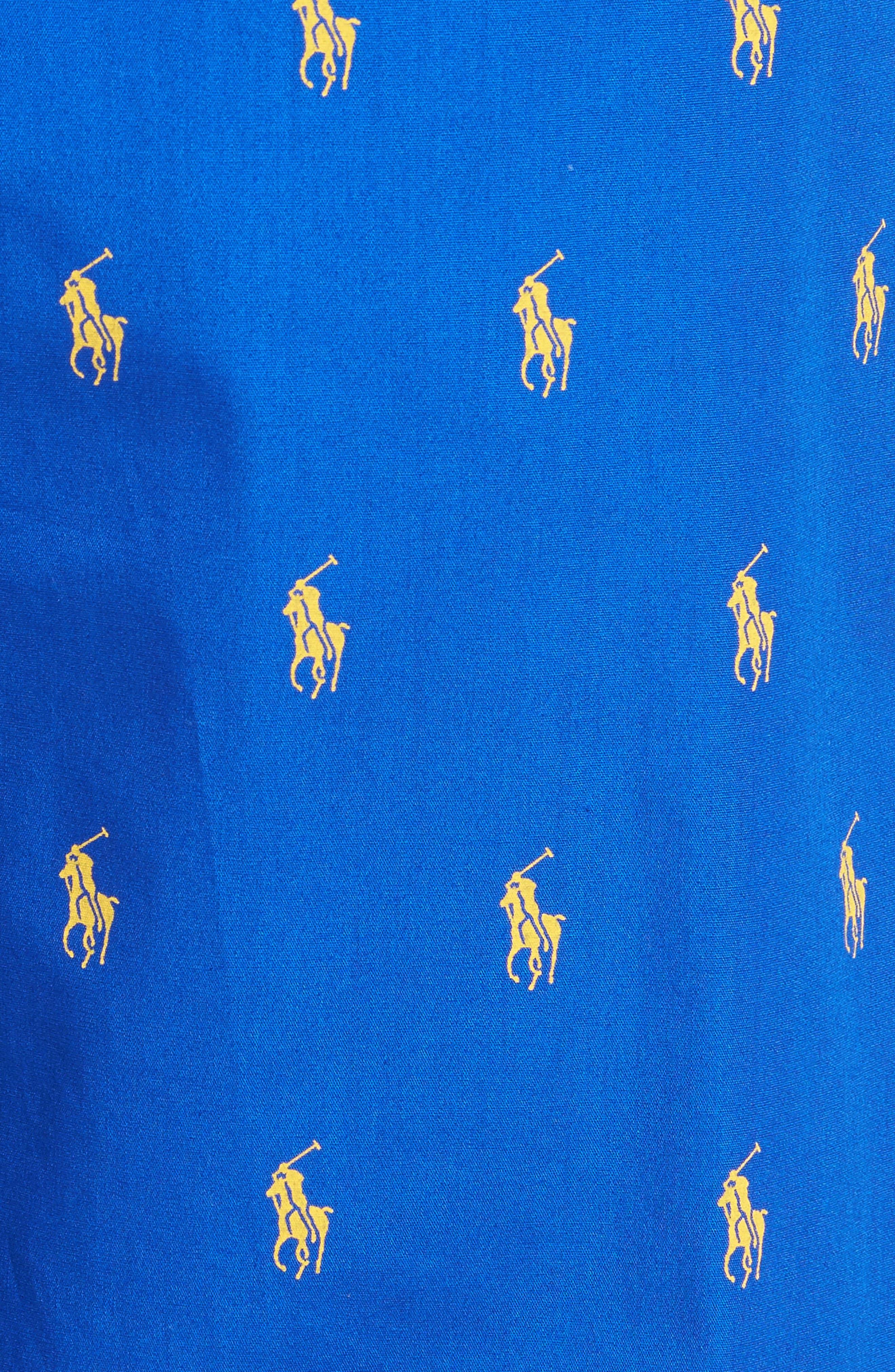 Polo Ralph Lauren Cotton Lounge Pants,                             Alternate thumbnail 23, color,