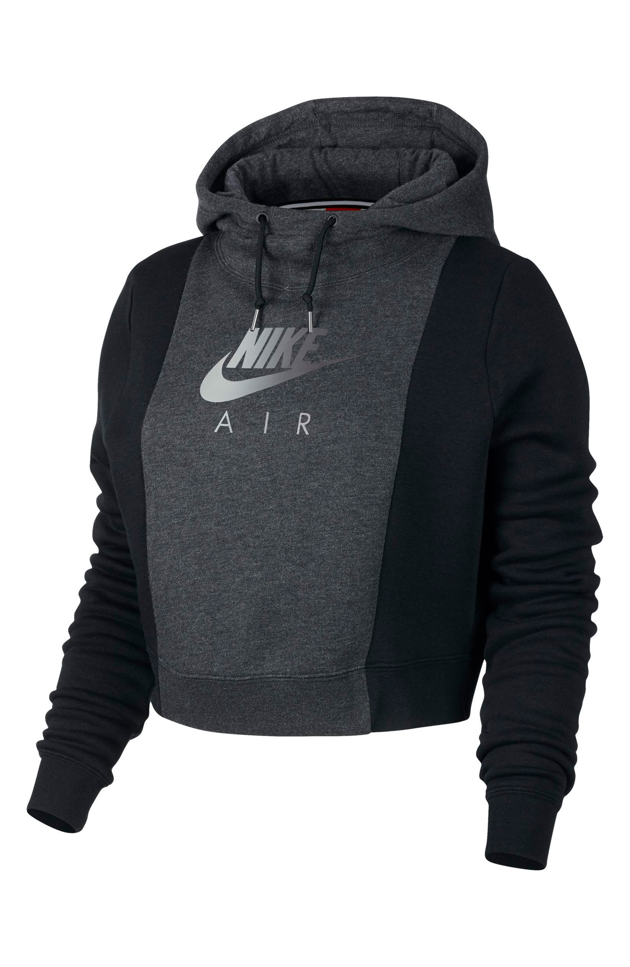 NSW Rally Air Women's Crop Pullover Hoodie,                         Main,                         color, 009