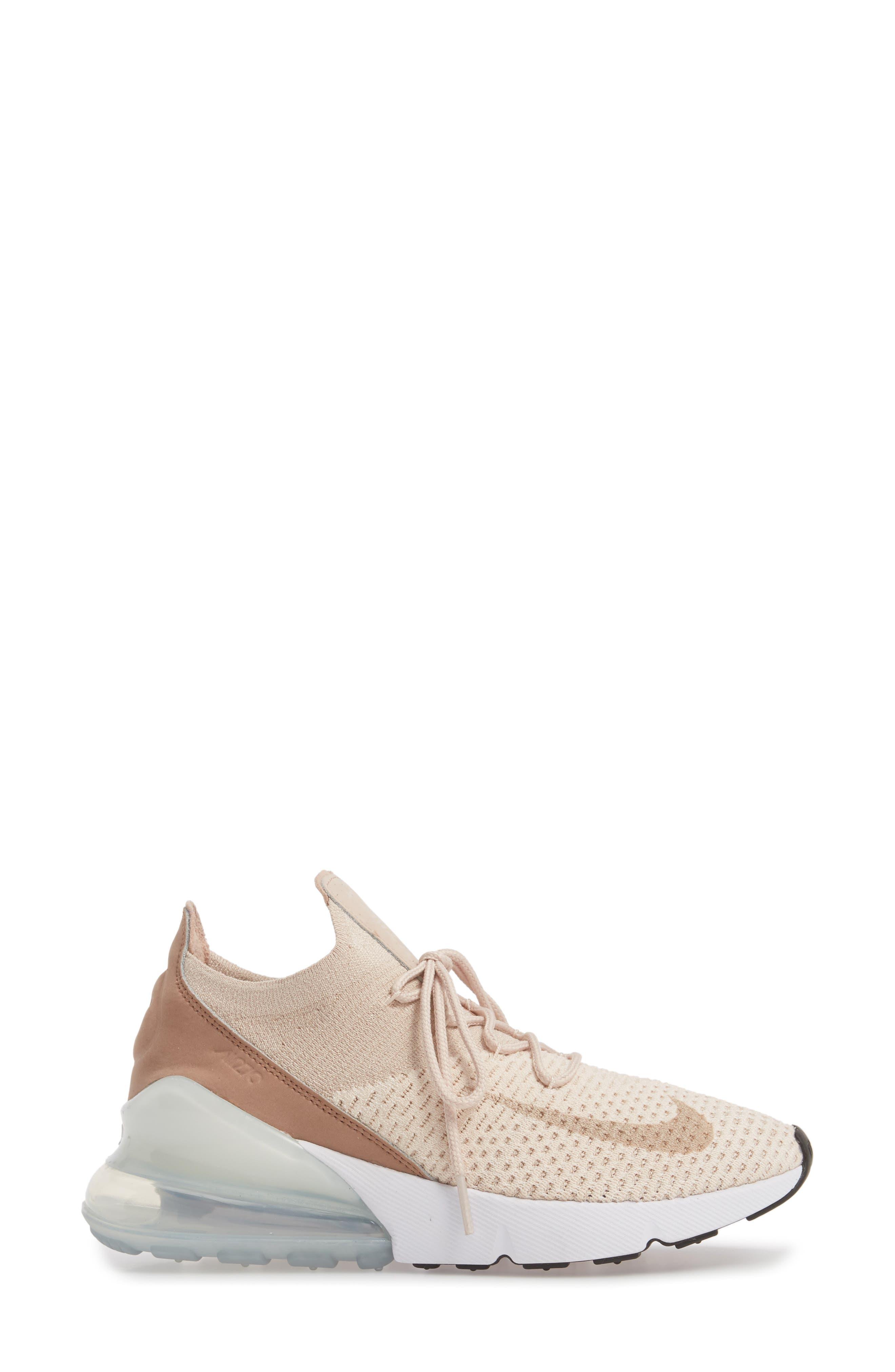 Air Max 270 Flyknit Sneaker,                             Alternate thumbnail 20, color,