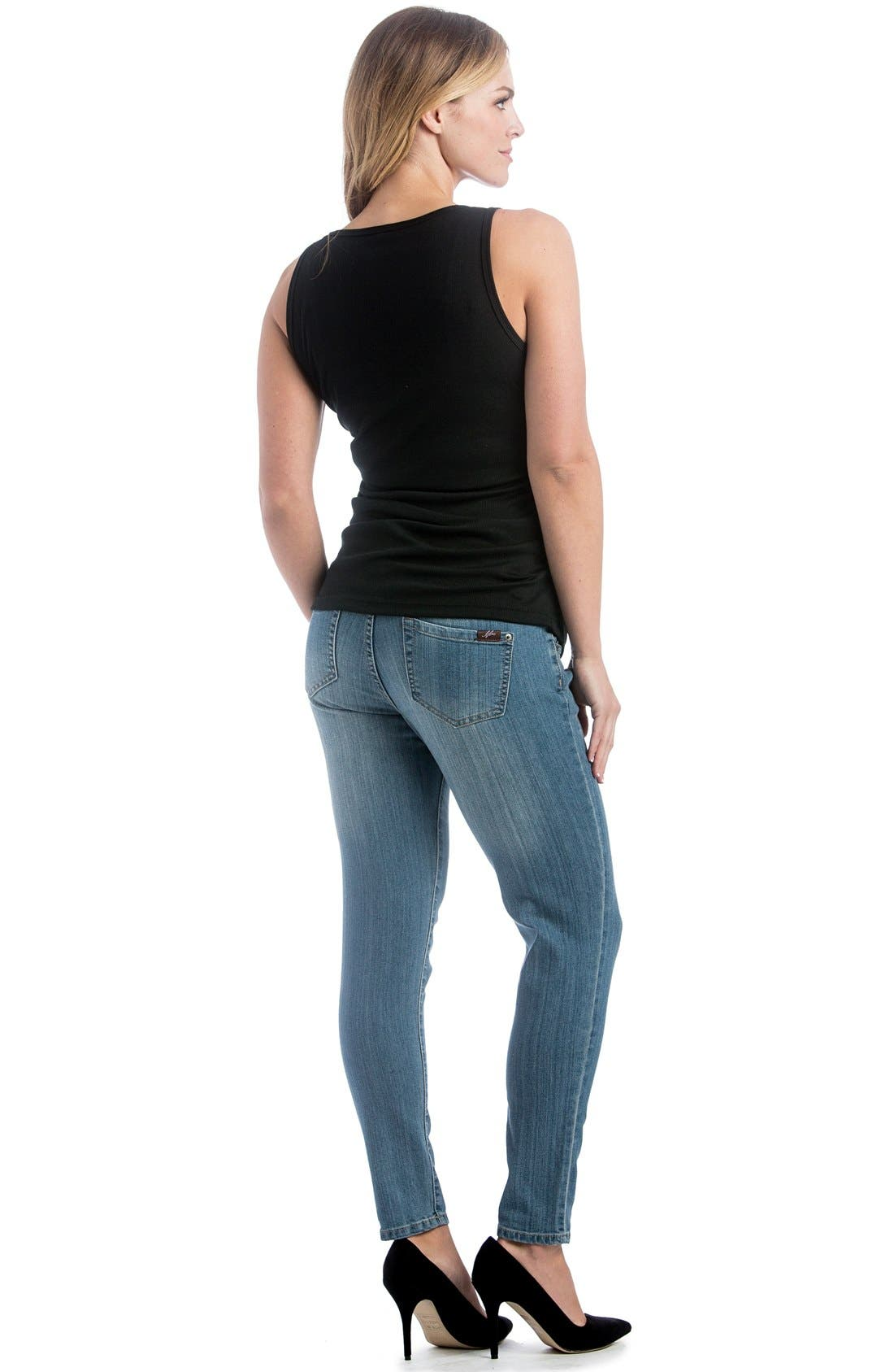 Skinny Maternity Jeans,                             Alternate thumbnail 20, color,
