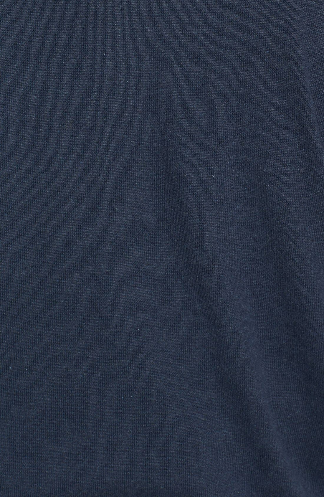 CUTTER & BUCK,                             Broadview Half Zip Sweater,                             Alternate thumbnail 3, color,                             480