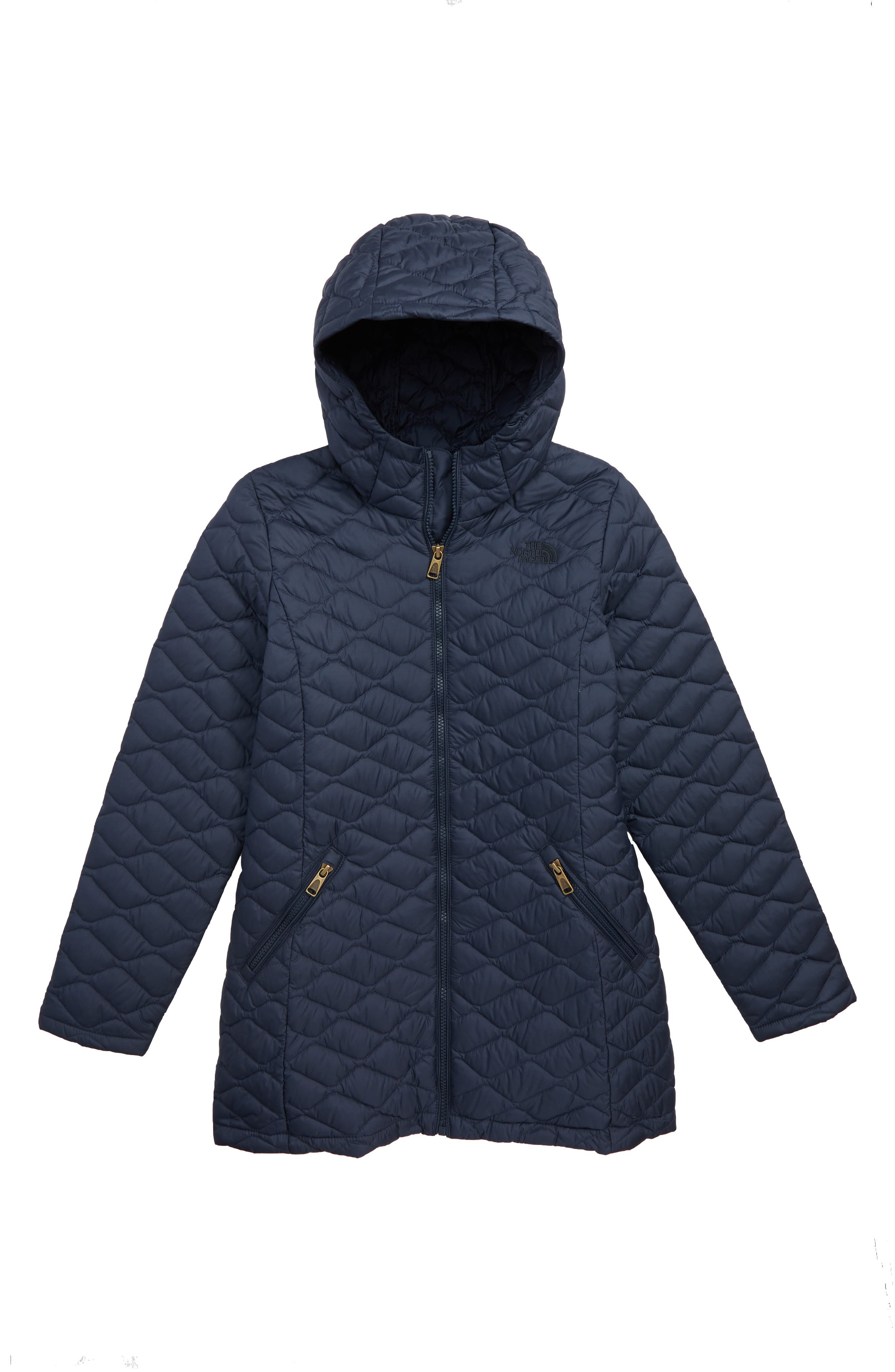 ThermoBall<sup>™</sup> PrimaLoft<sup>®</sup> Quilted Parka,                         Main,                         color, URBAN NAVY