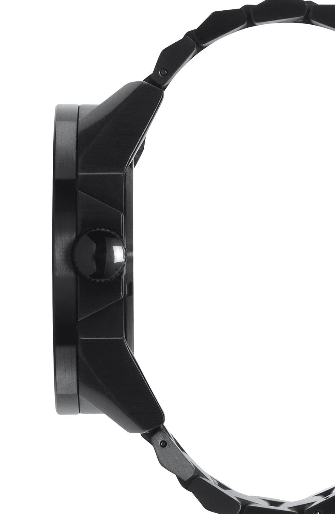 'The Corporal' Bracelet Watch, 48mm,                             Alternate thumbnail 5, color,                             BLACK