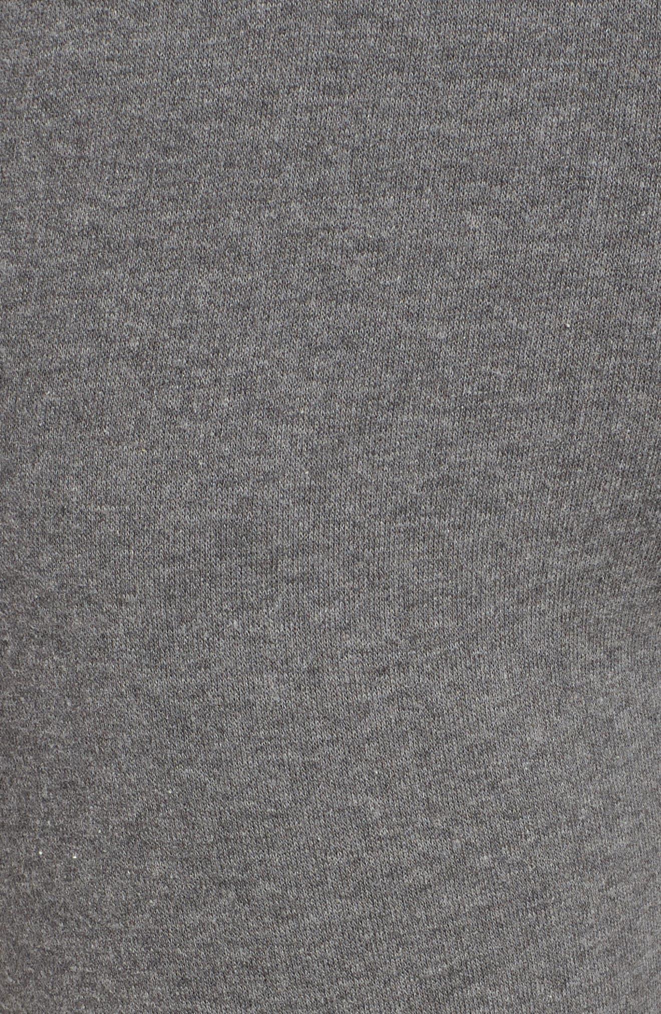 Crop Flare Sweatpants,                             Alternate thumbnail 5, color,                             020