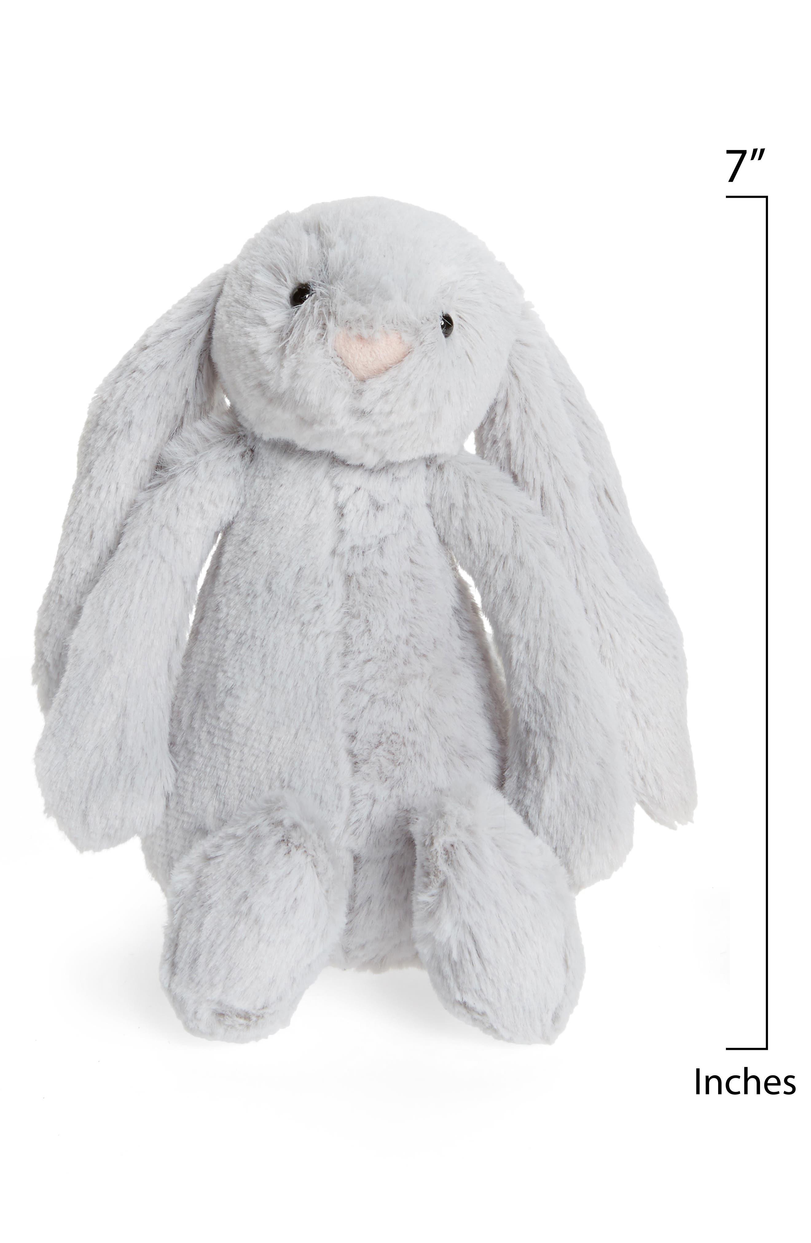 JELLYCAT,                             'Small Bashful Bunny' Stuffed Animal,                             Alternate thumbnail 2, color,                             GREY