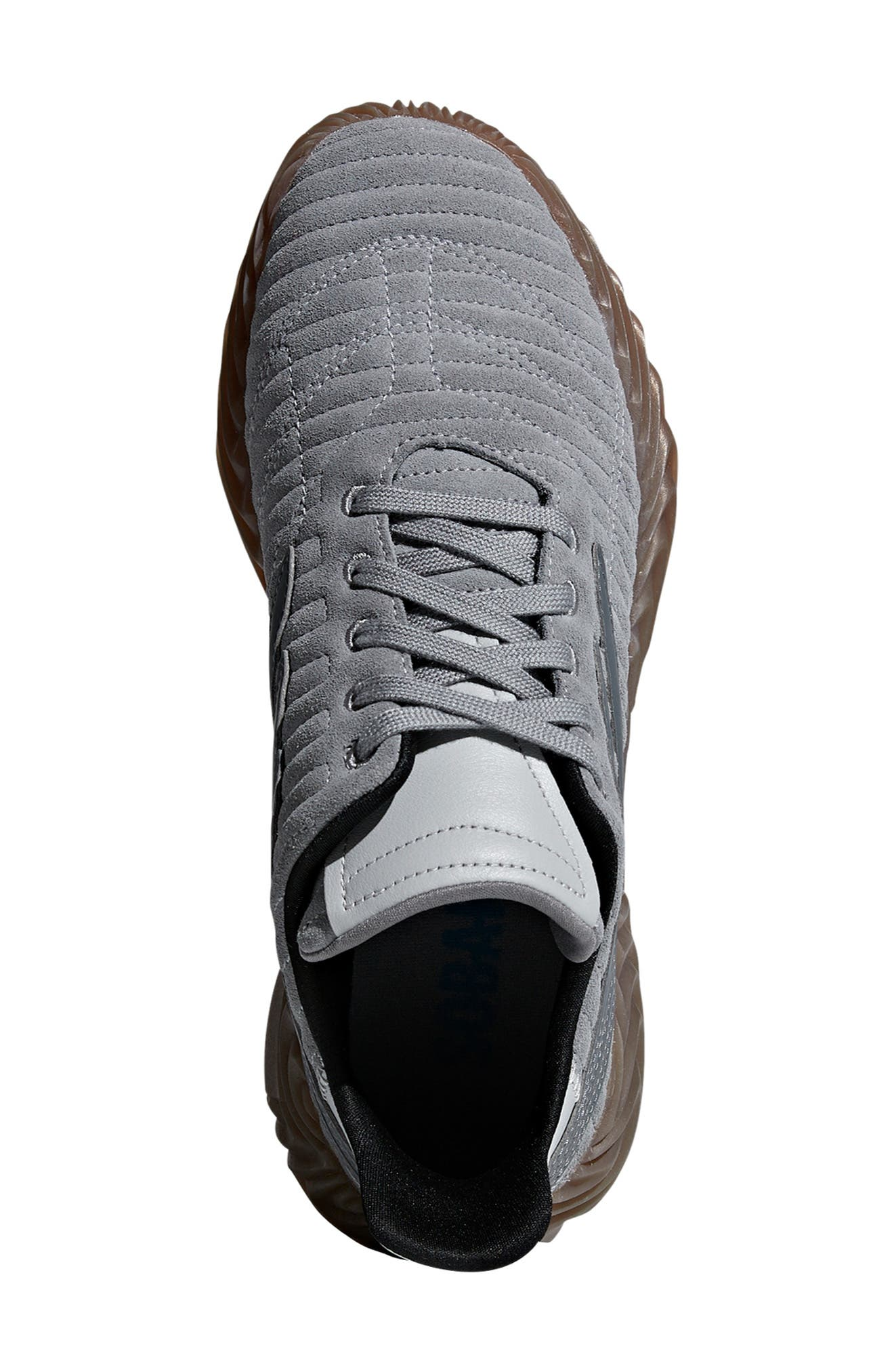Sobakov Sneaker,                             Alternate thumbnail 4, color,                             GREY/ GREY
