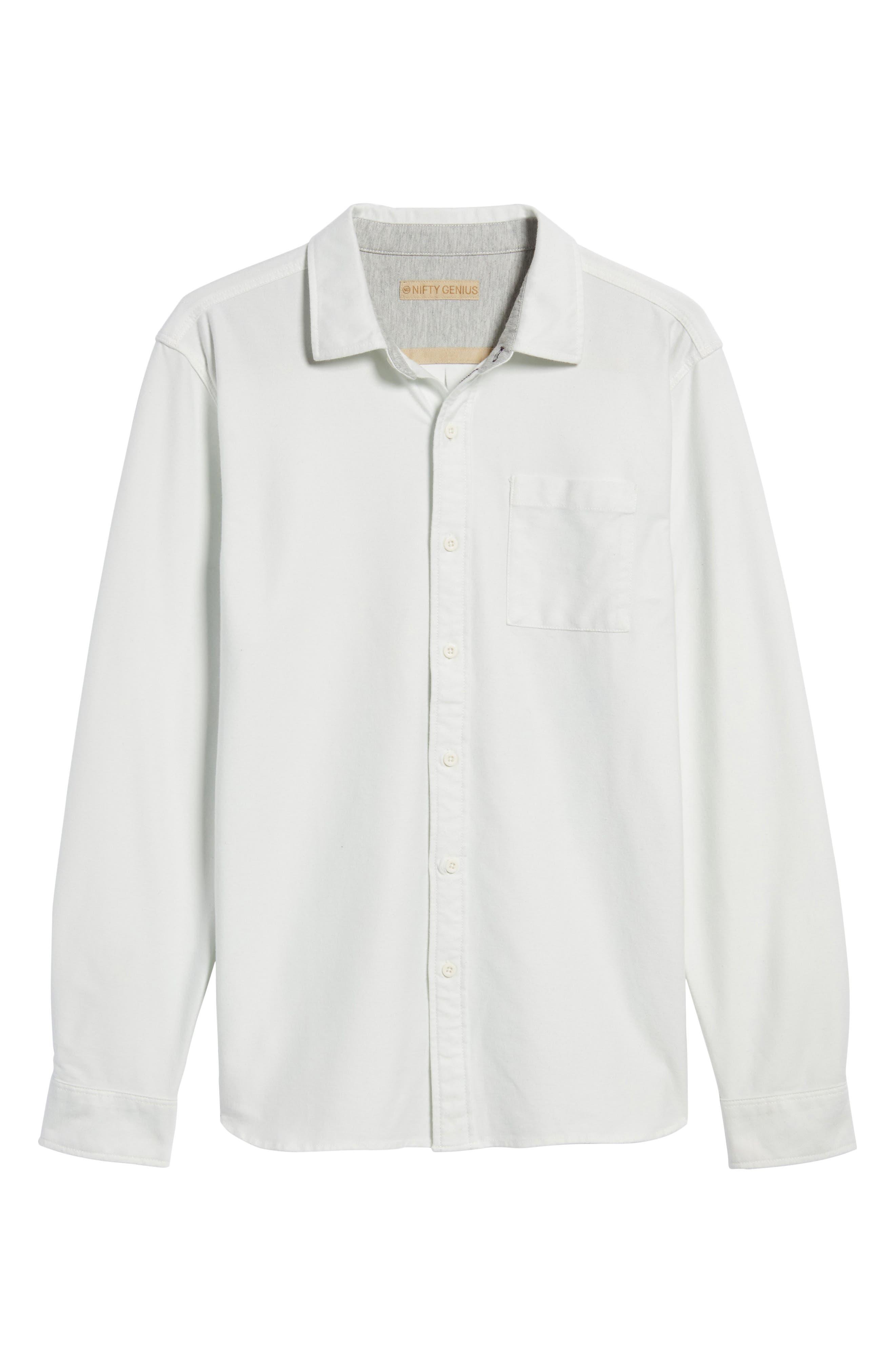 Truman Solid Sport Shirt,                             Alternate thumbnail 6, color,                             199