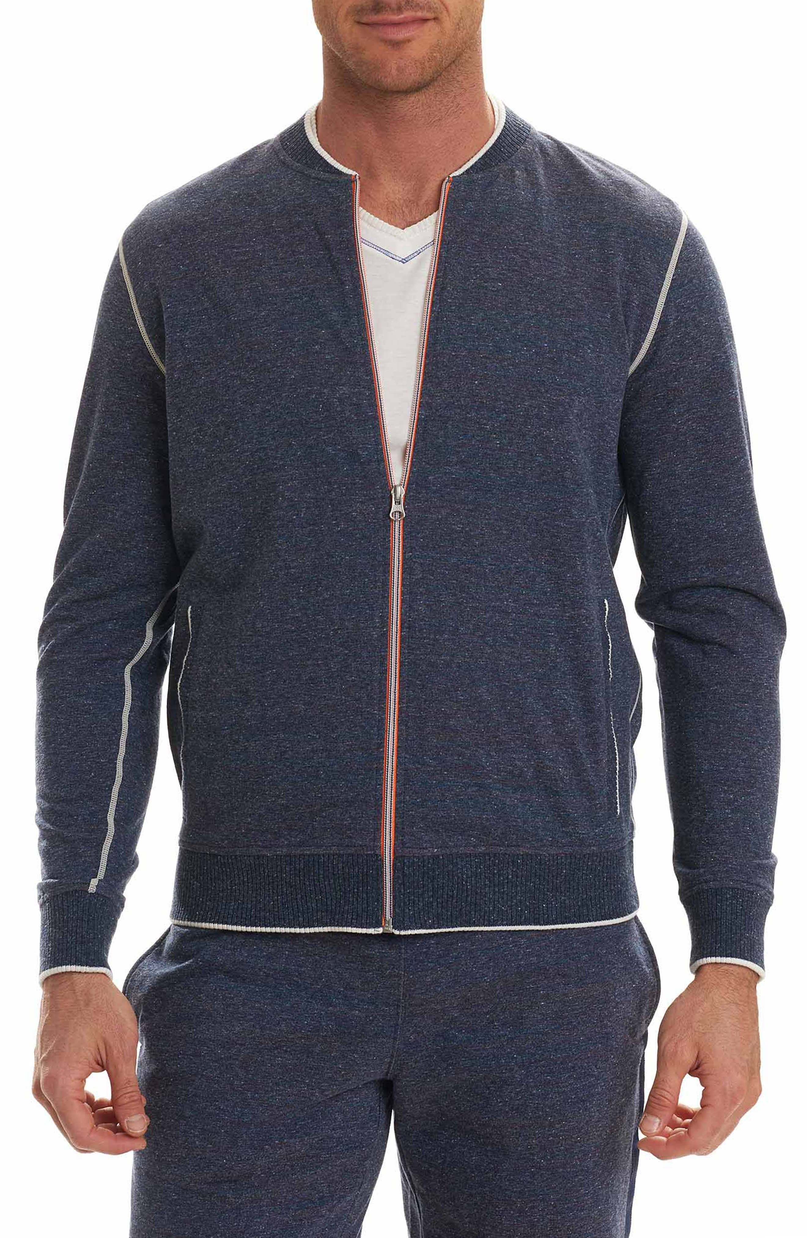 Vagabond Full Zip Fleece Bomber Jacket,                         Main,                         color, 411