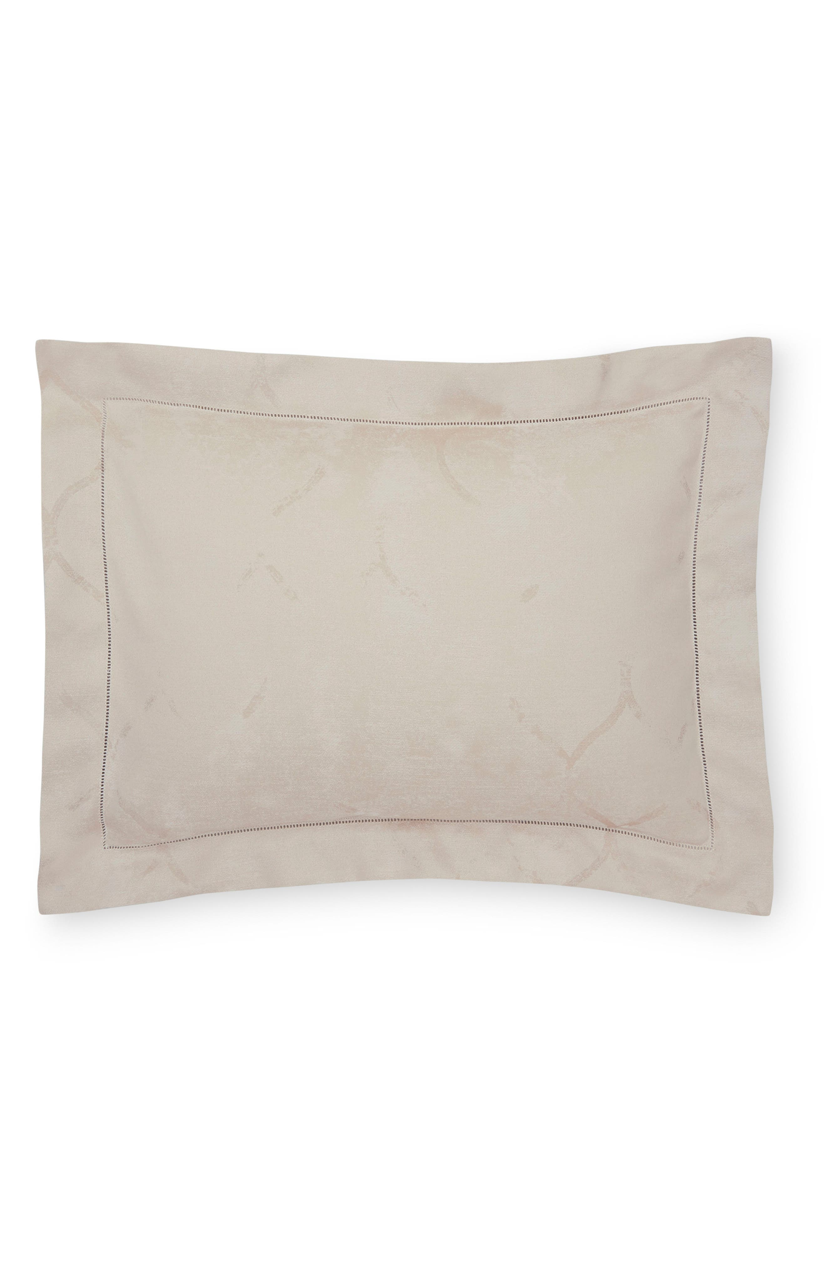 Chetta Boudoir Sham,                         Main,                         color, ALABASTER